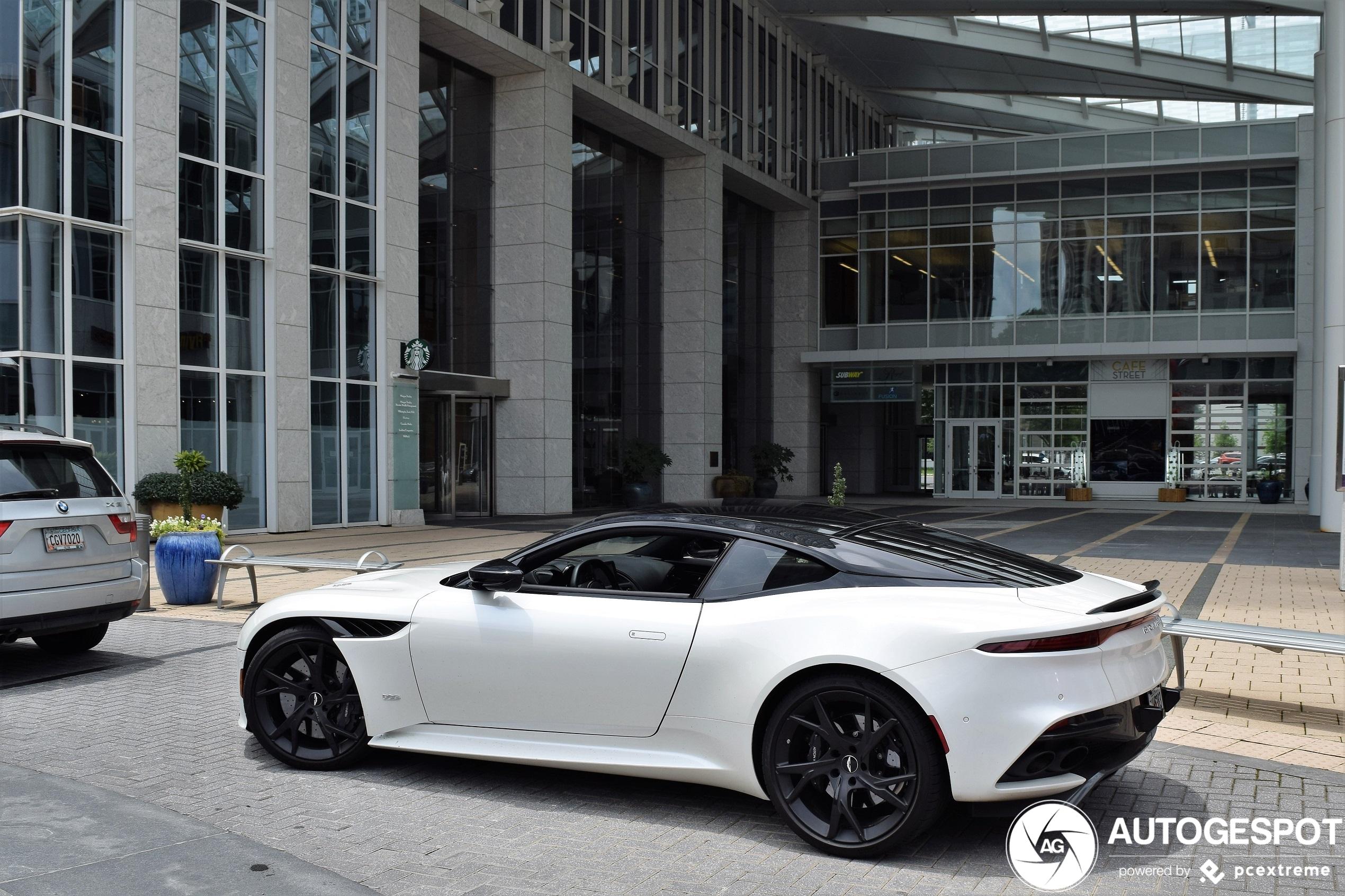 Aston Martin Dbs Superleggera 8 Juni 2020 Autogespot
