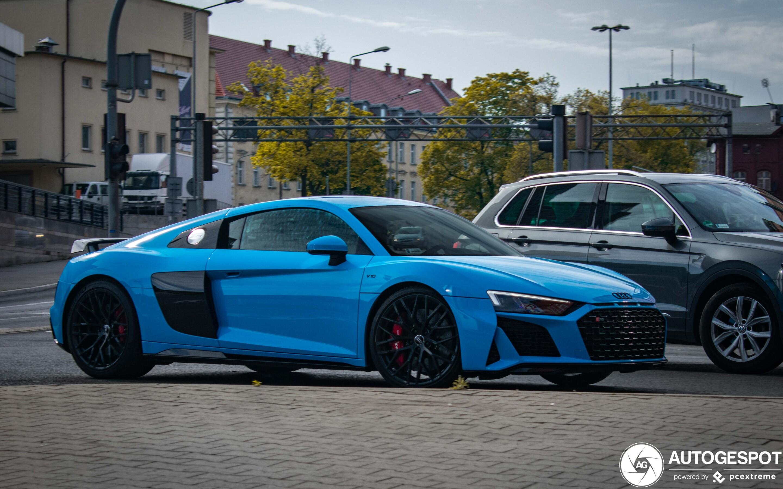 Audi R8 V10 Performance 2019 8 June 2020 Autogespot
