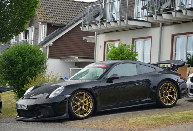 Porsche Manthey Racing 991 GT3 MR