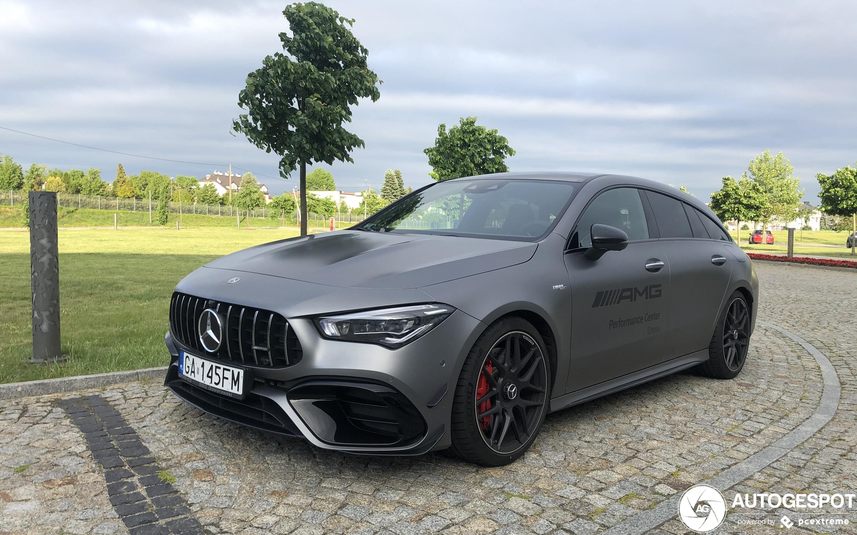 Mercedes-AMG CLA 45 S Shooting Brake X118 - 9 June 2020 - Autogespot