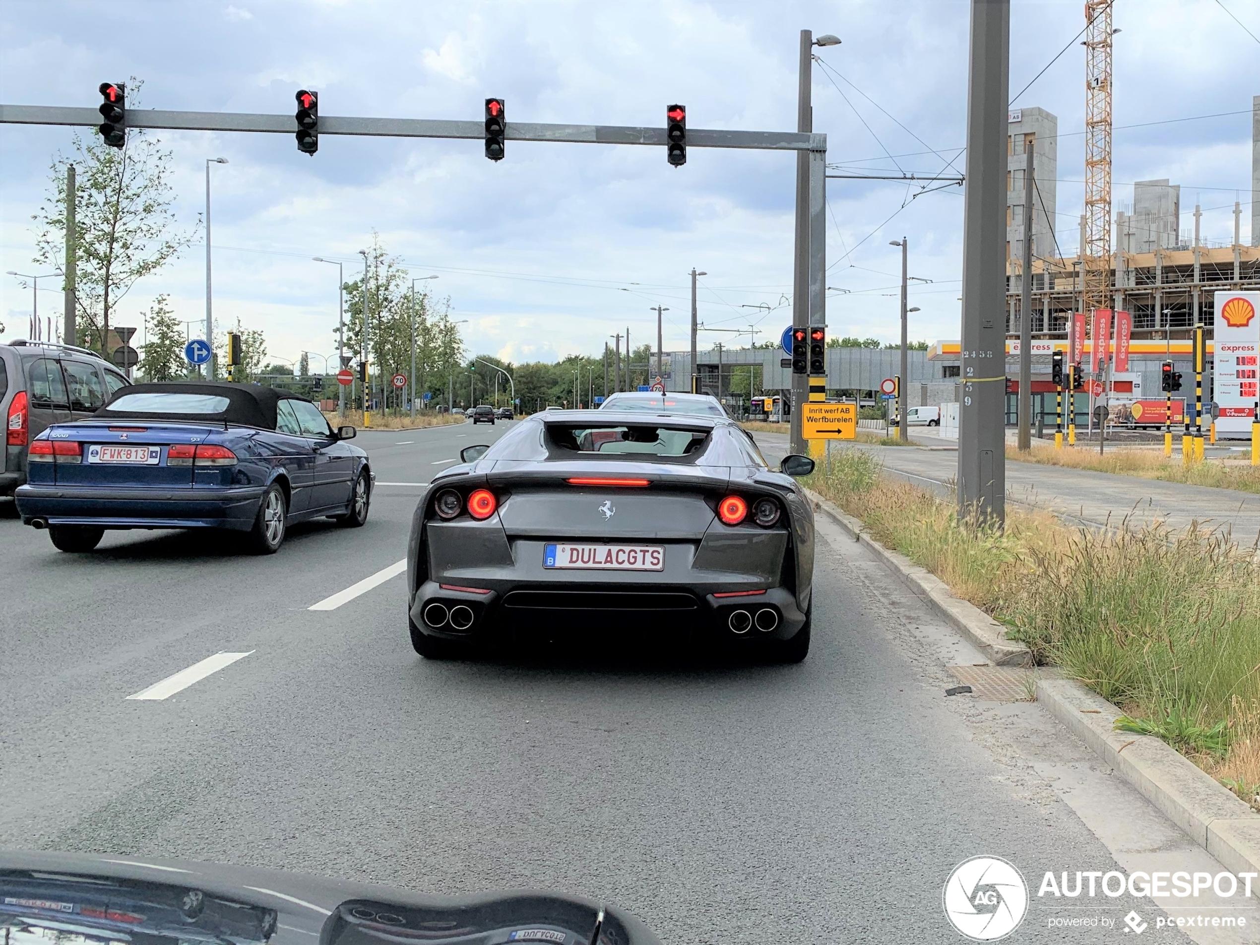 Ferrari 812 GTS duikt op in Antwerpen