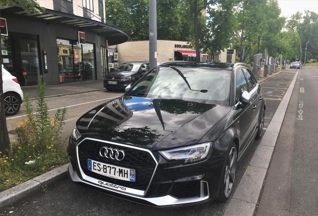 Audi RS3 Sportback 8V 2018