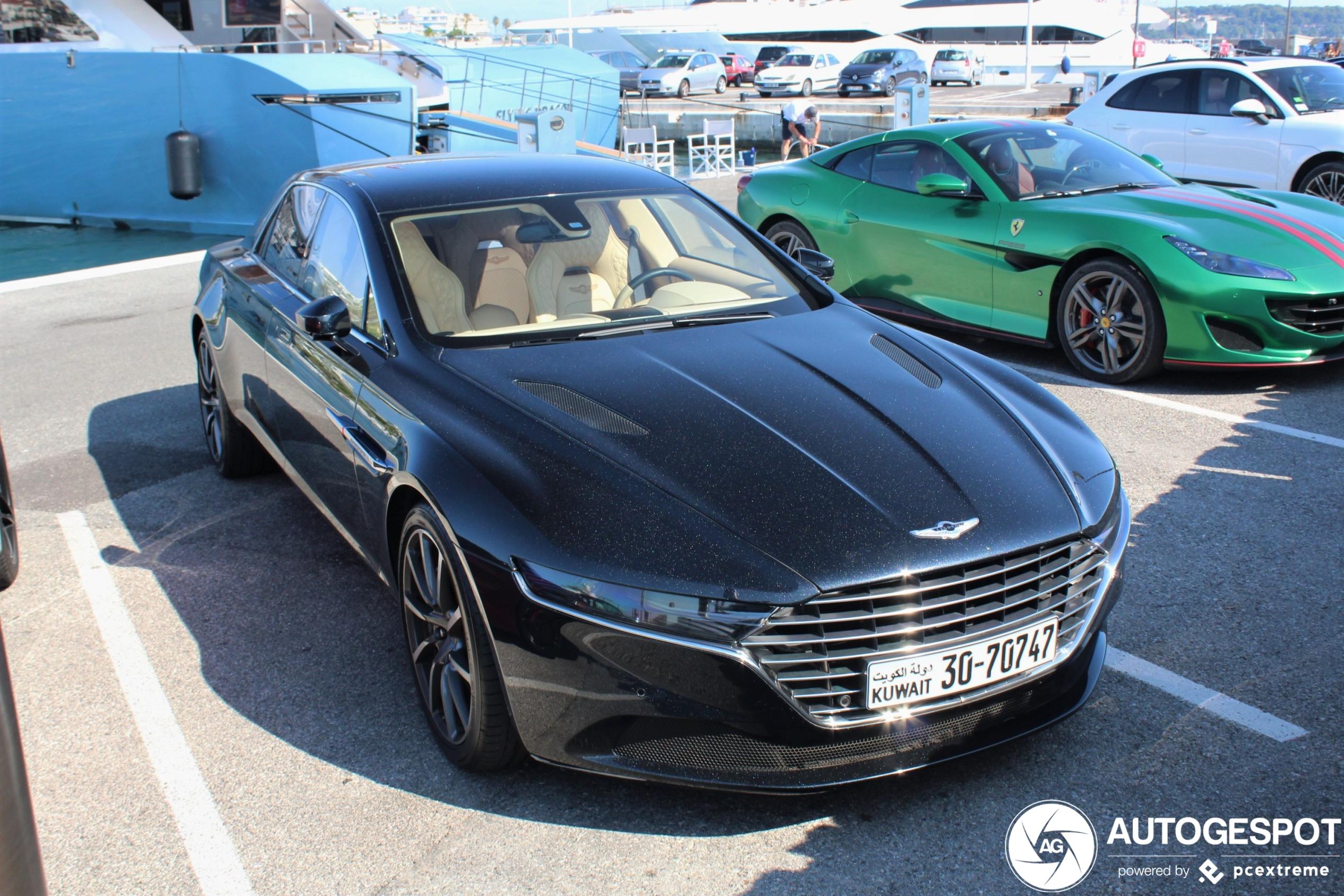 Aston Martin Lagonda Taraf 17 Juni 2020 Autogespot