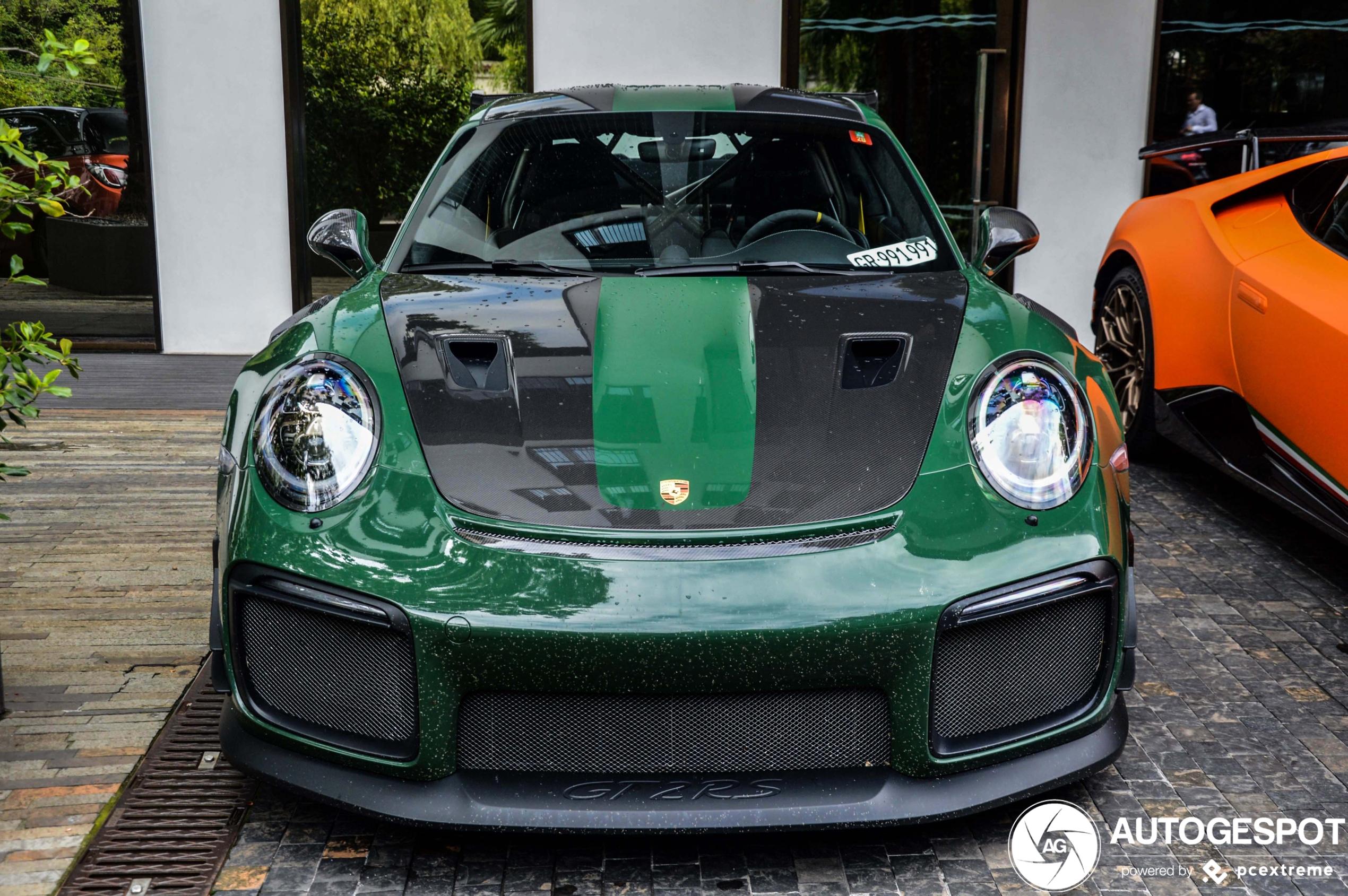 Porsche Manthey 991 GT2 RS MR is de auto voor de Nürburgring