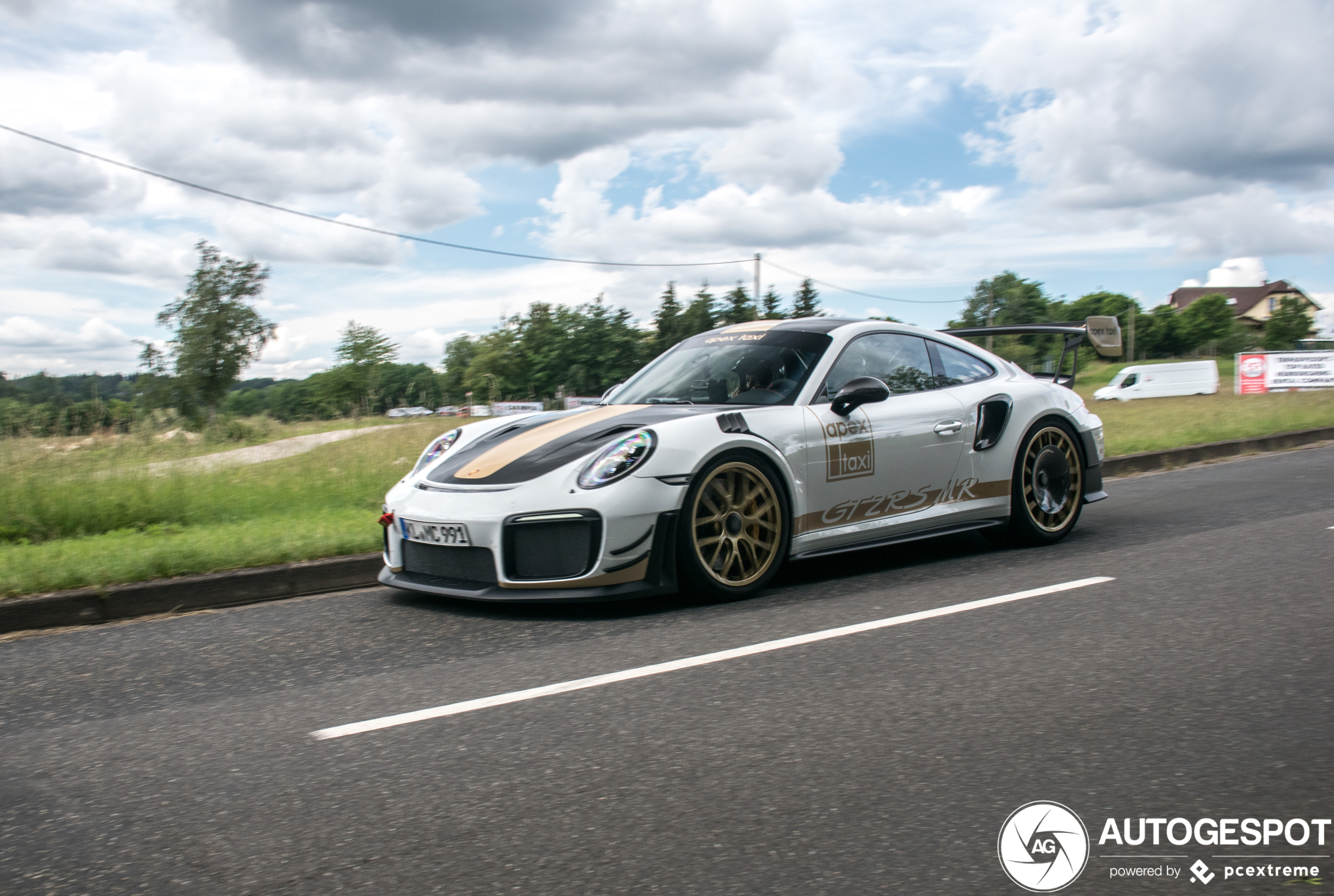 Porsche Manthey 991 GT2 RS MR is in the wrong place.