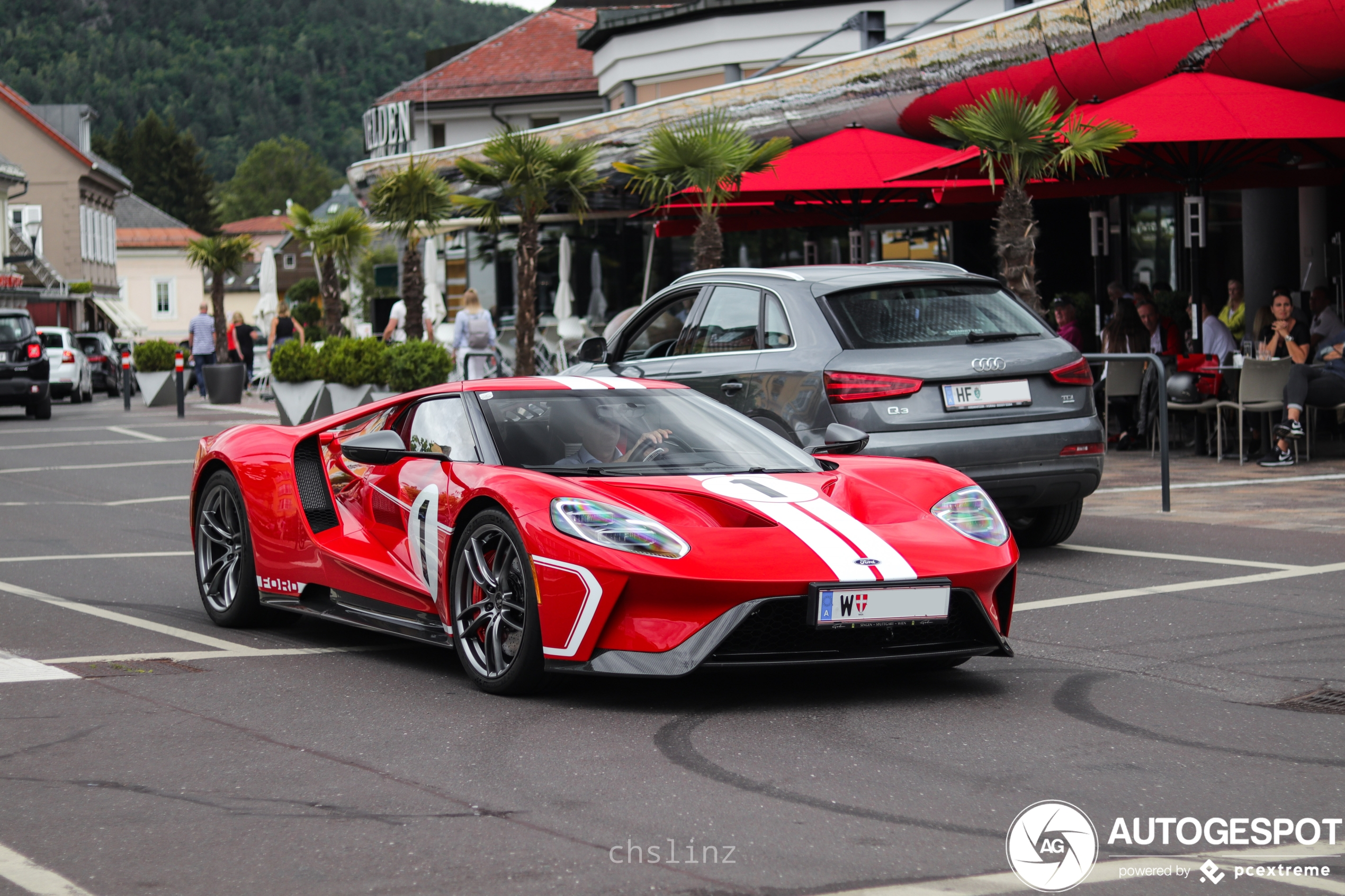 Ford GT '67 Heritage Edition steelt de show in Velden