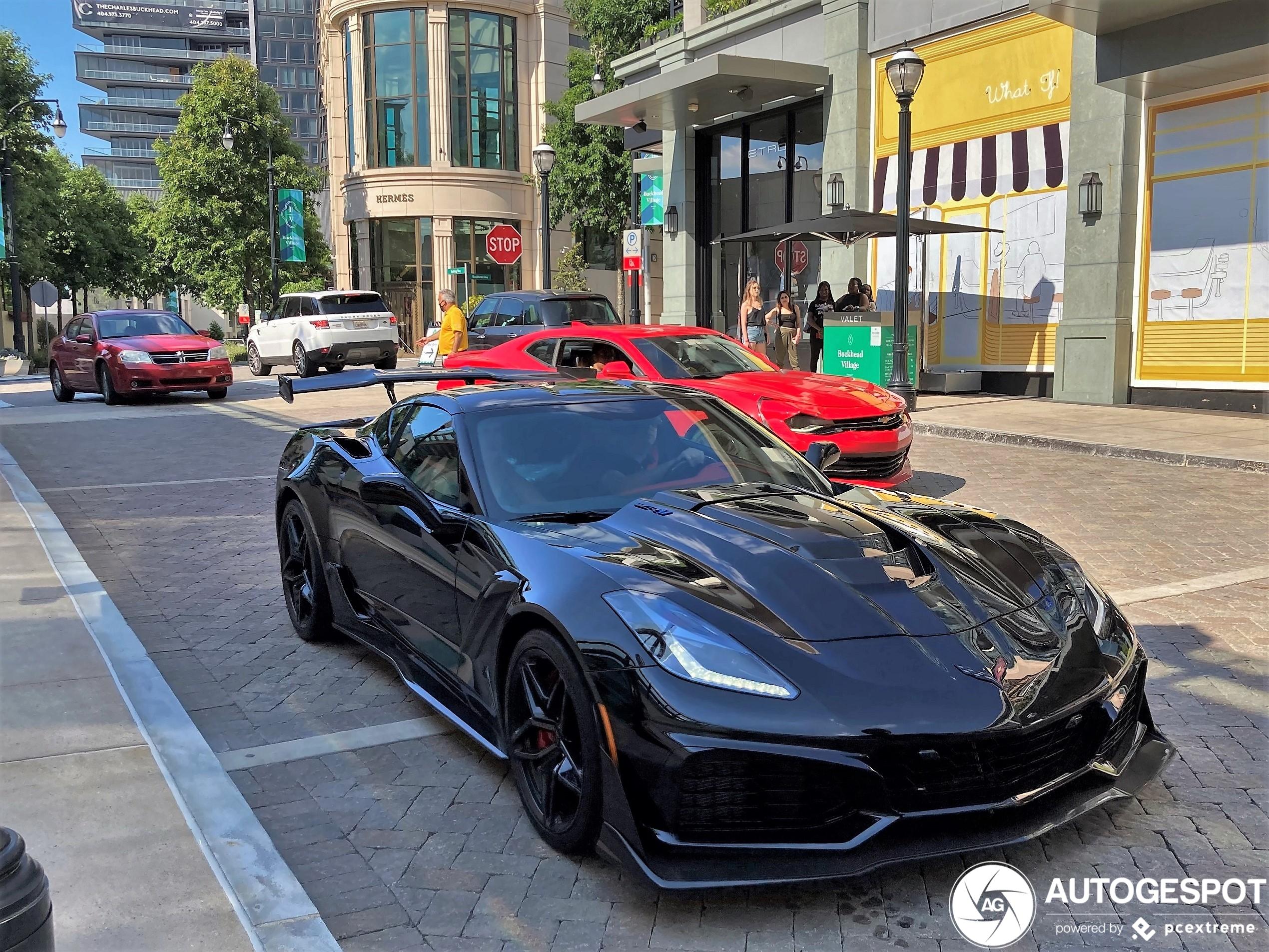 chevrolet corvette c7 zr1 - 24 june 2020 - autogespot