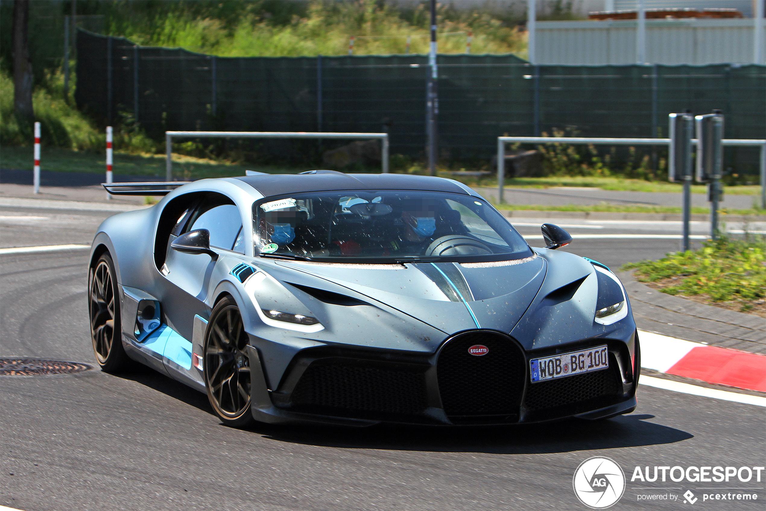 Bugatti Divo tot in detail vastgelegd bij Nürburgring