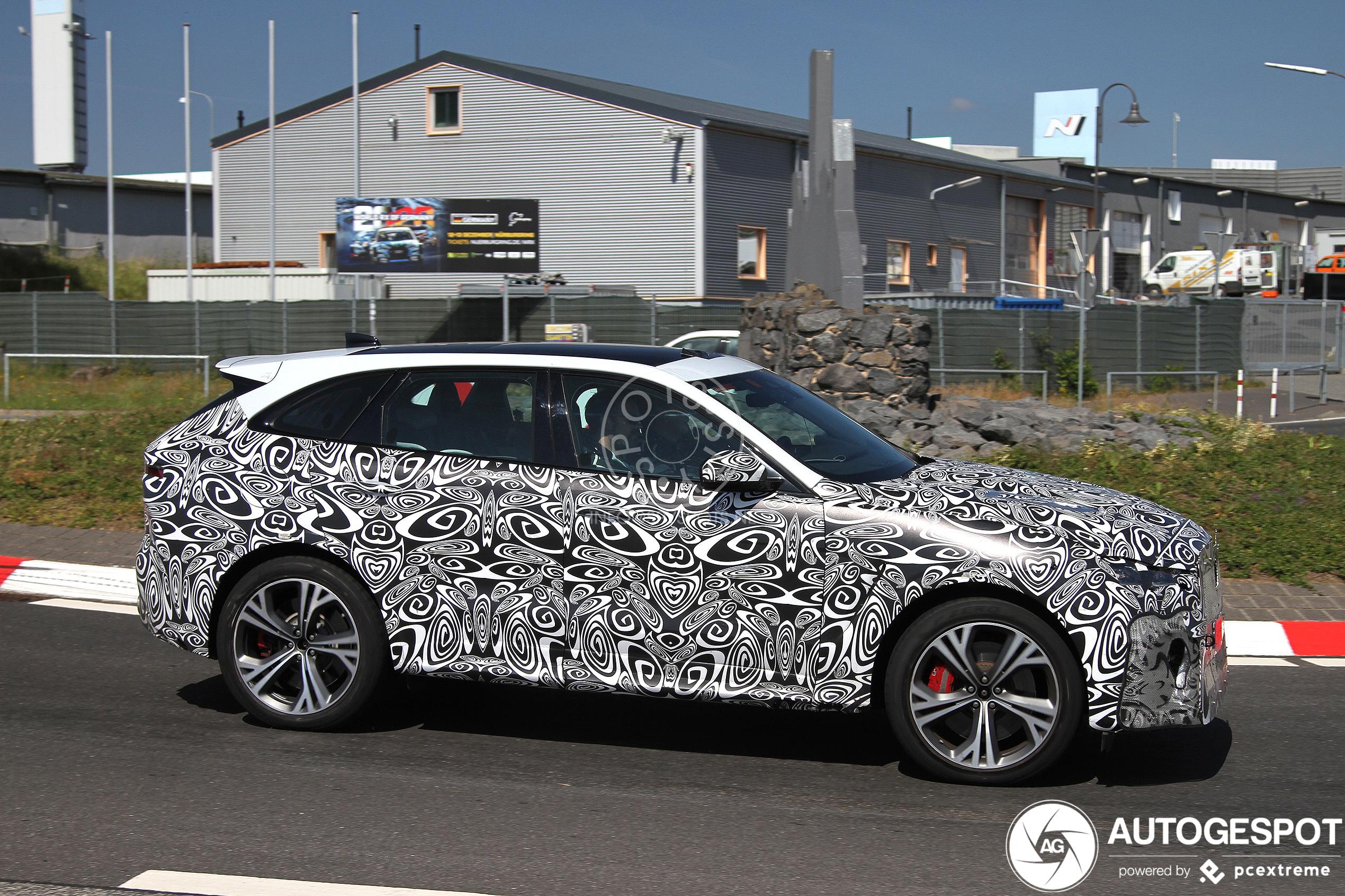 jaguar fpace svr 2021  25 juni 2020  autogespot