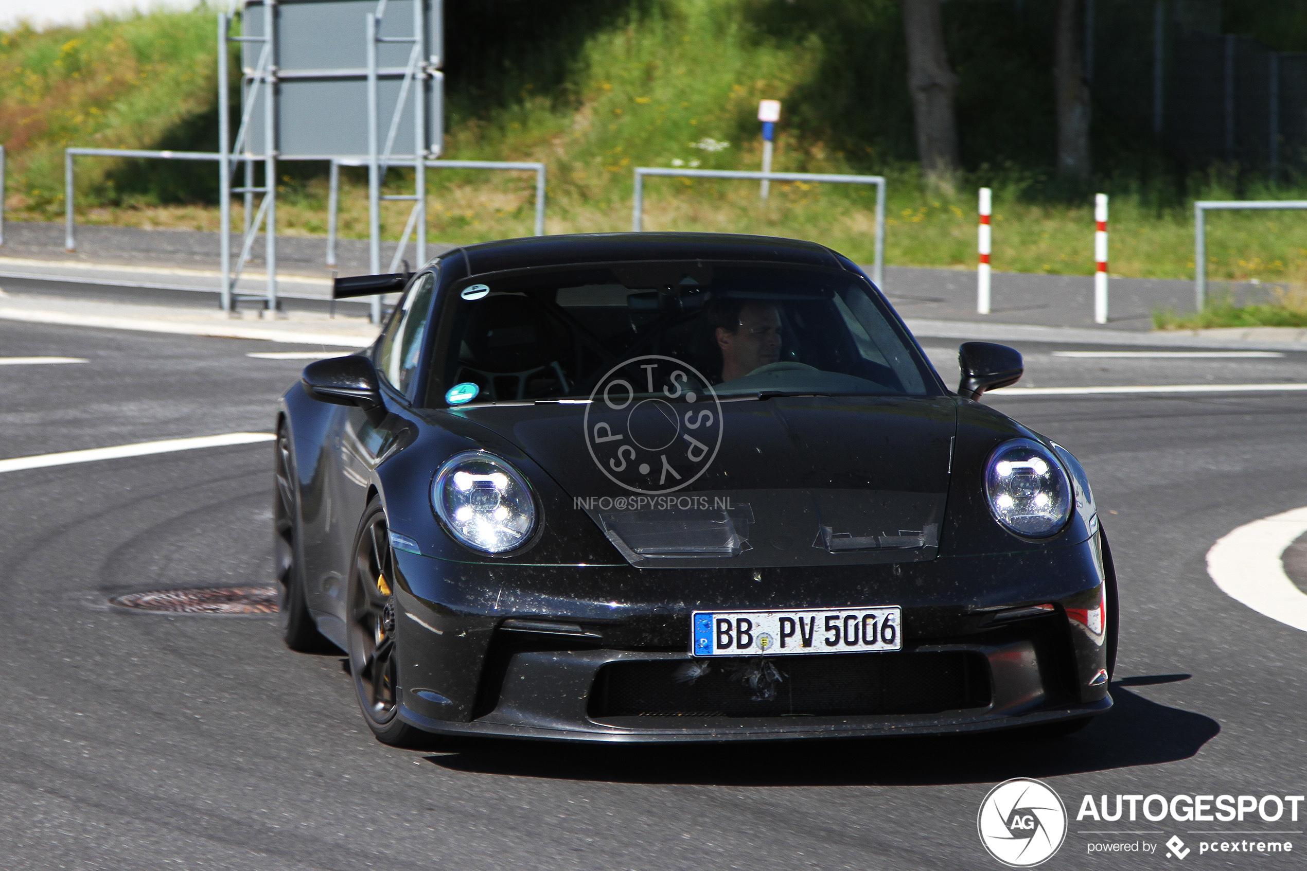 Porsche 992 GT3 in groten getale aanwezig op de Nürburgring