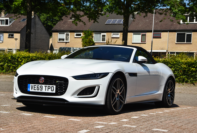 Jaguar F-TYPE P450 Convertible 2020