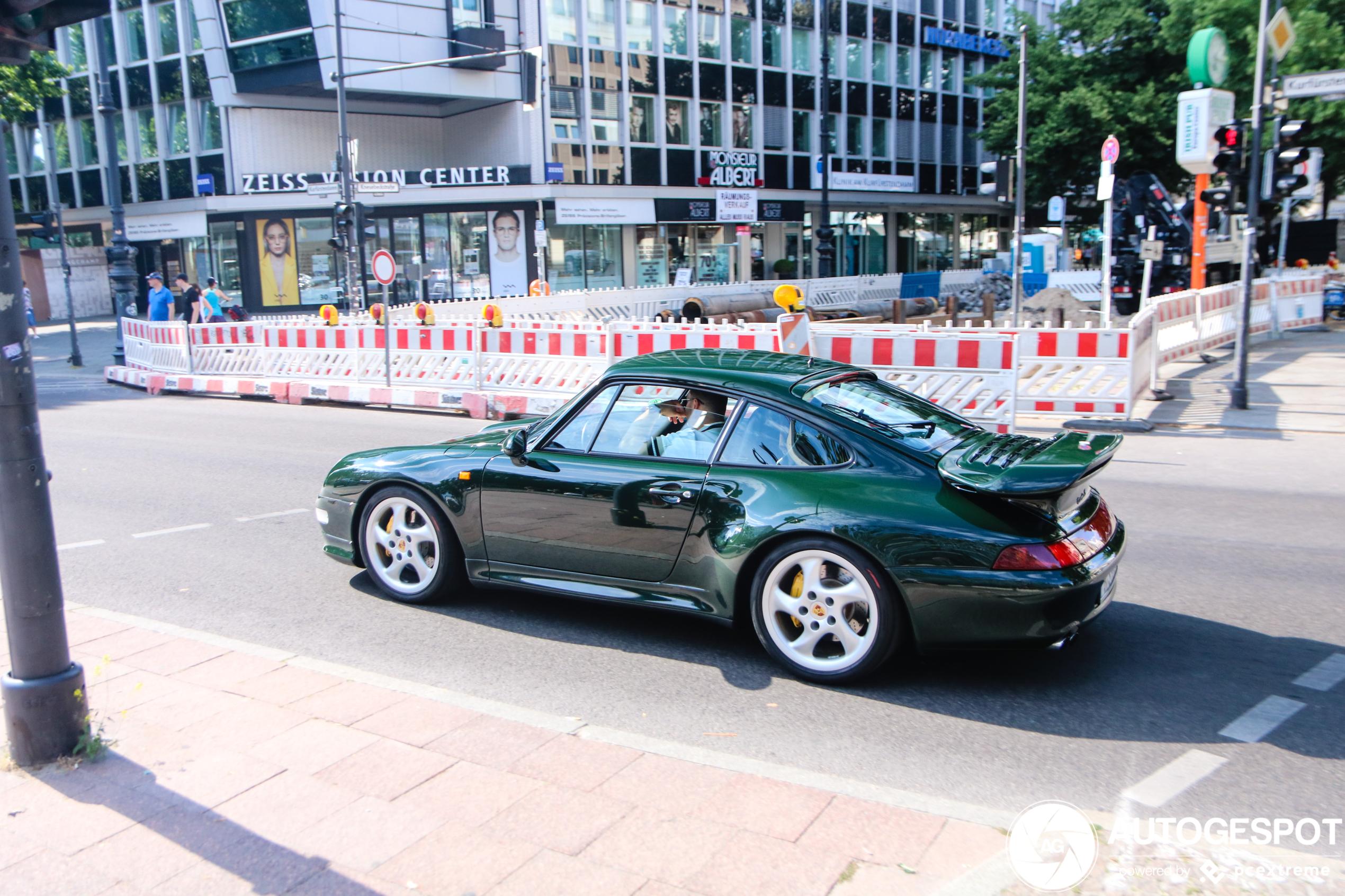 Pareltje gespot Porsche 993 Turbo S