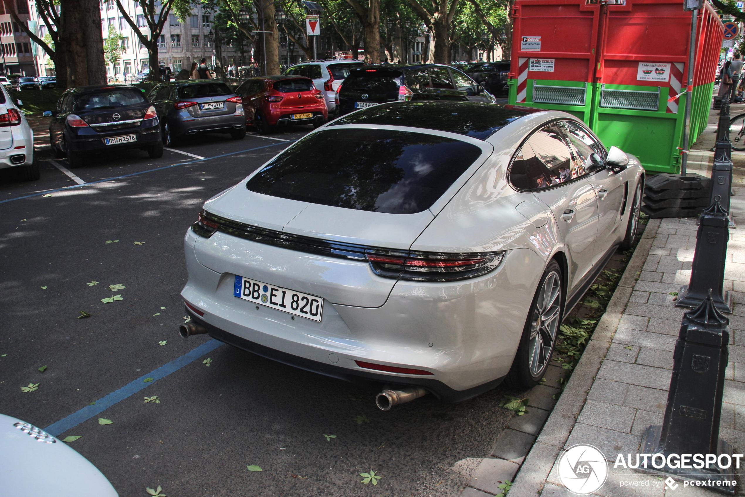 Wat is Porsche met deze Panamera van plan?