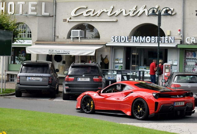 Ferrari 488 Pista Novitec Rosso