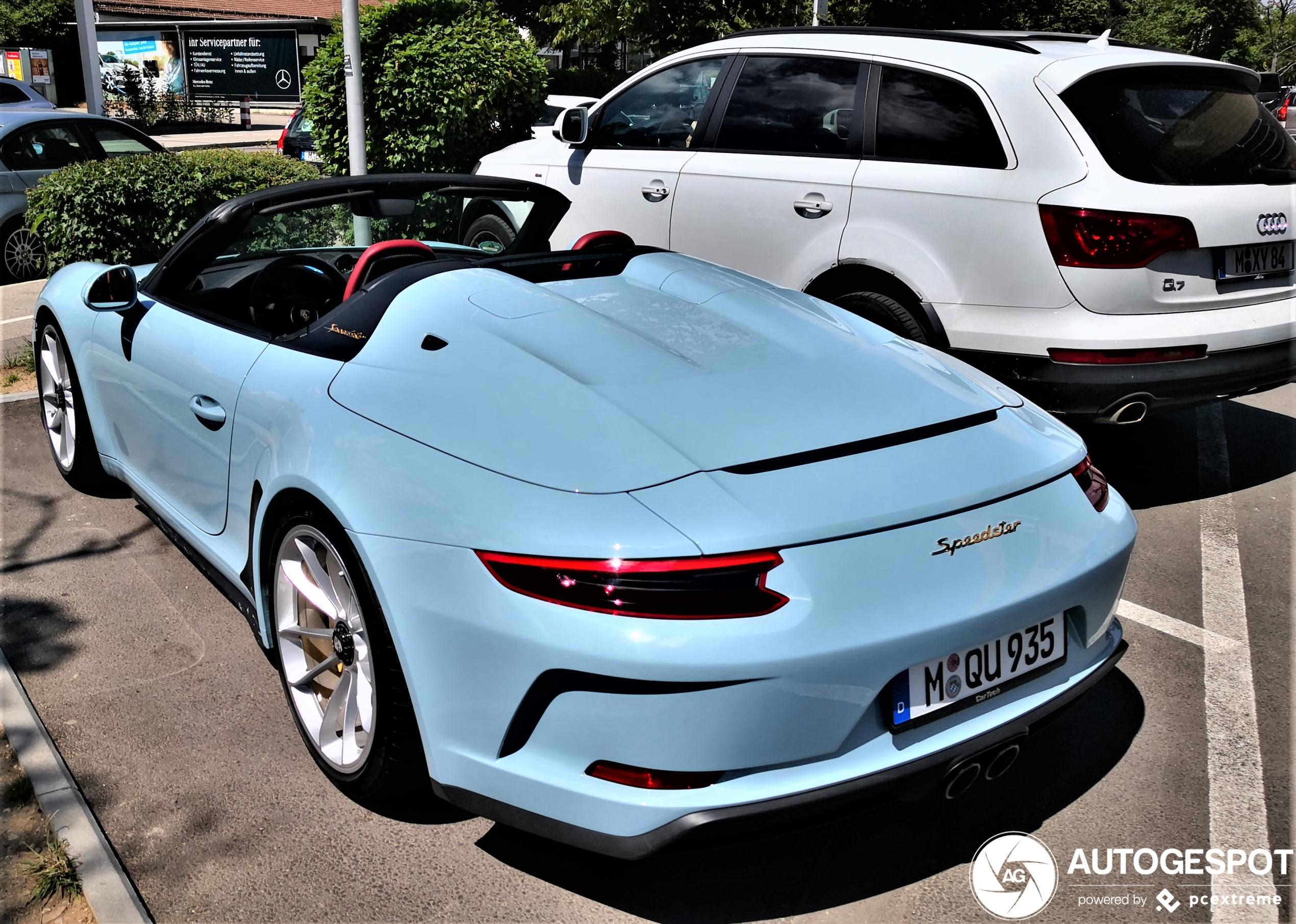 Porsche 991 Speedster heeft nostalgisch kleurtje