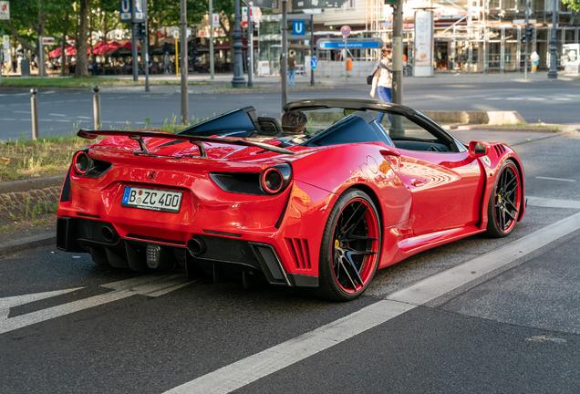 Ferrari Novitec Rosso 488 Spider N-Largo