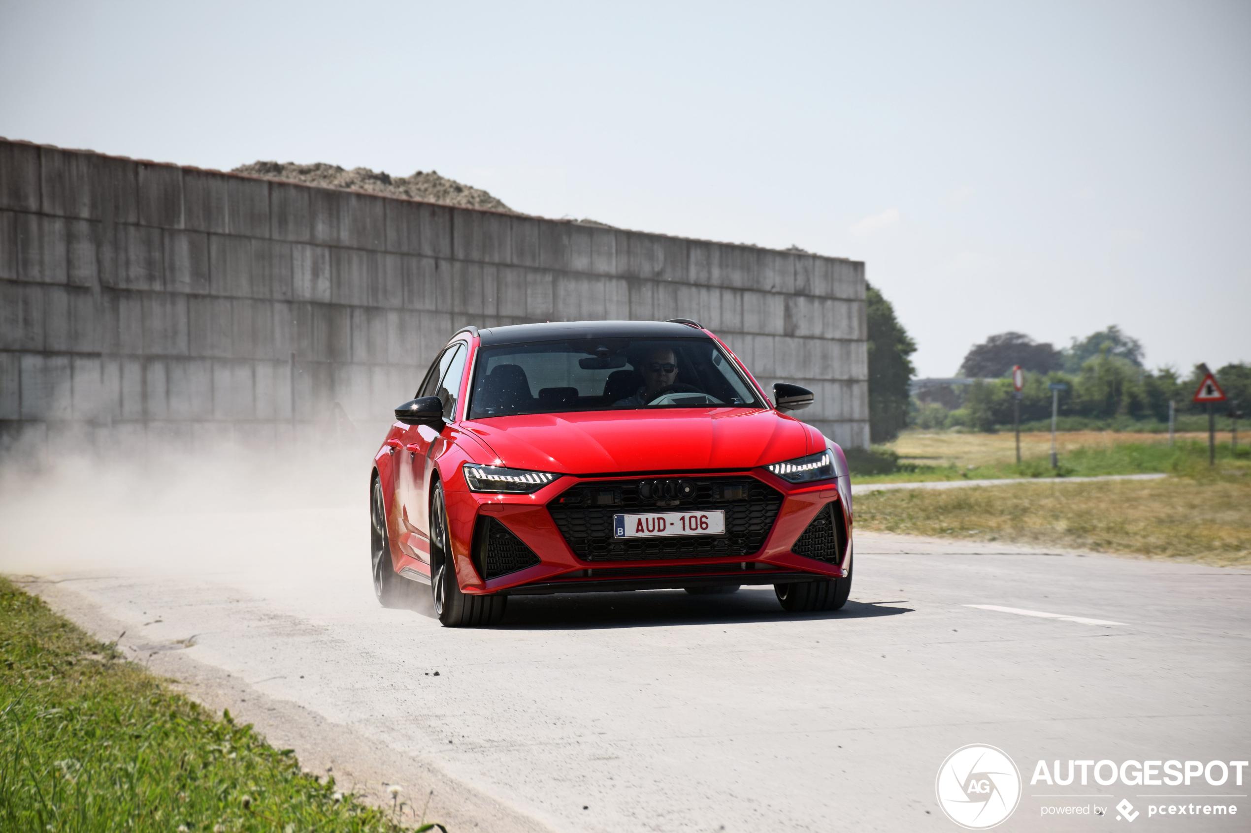 Audi RS6 Avant boezemt angst in met deze foto's