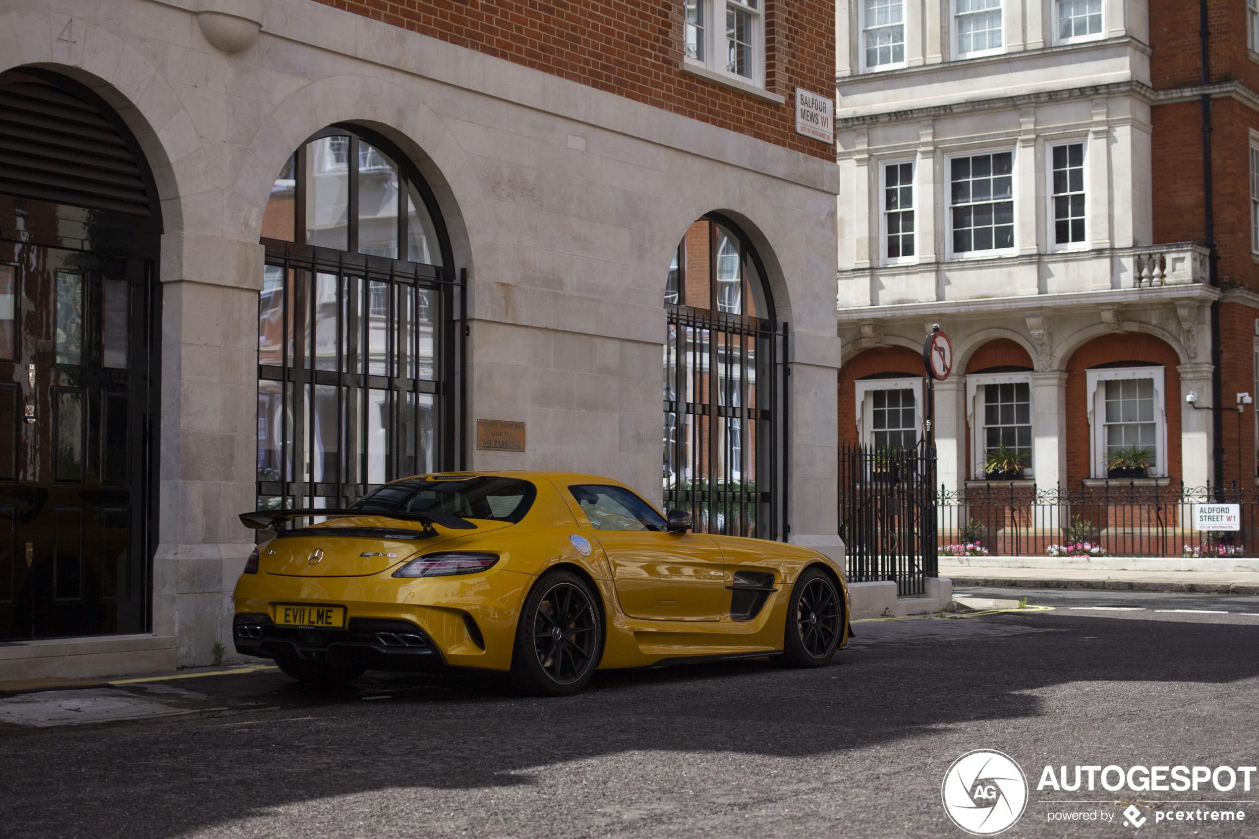 Onheilspellend: Mercedes-Benz SLS AMG Black Series
