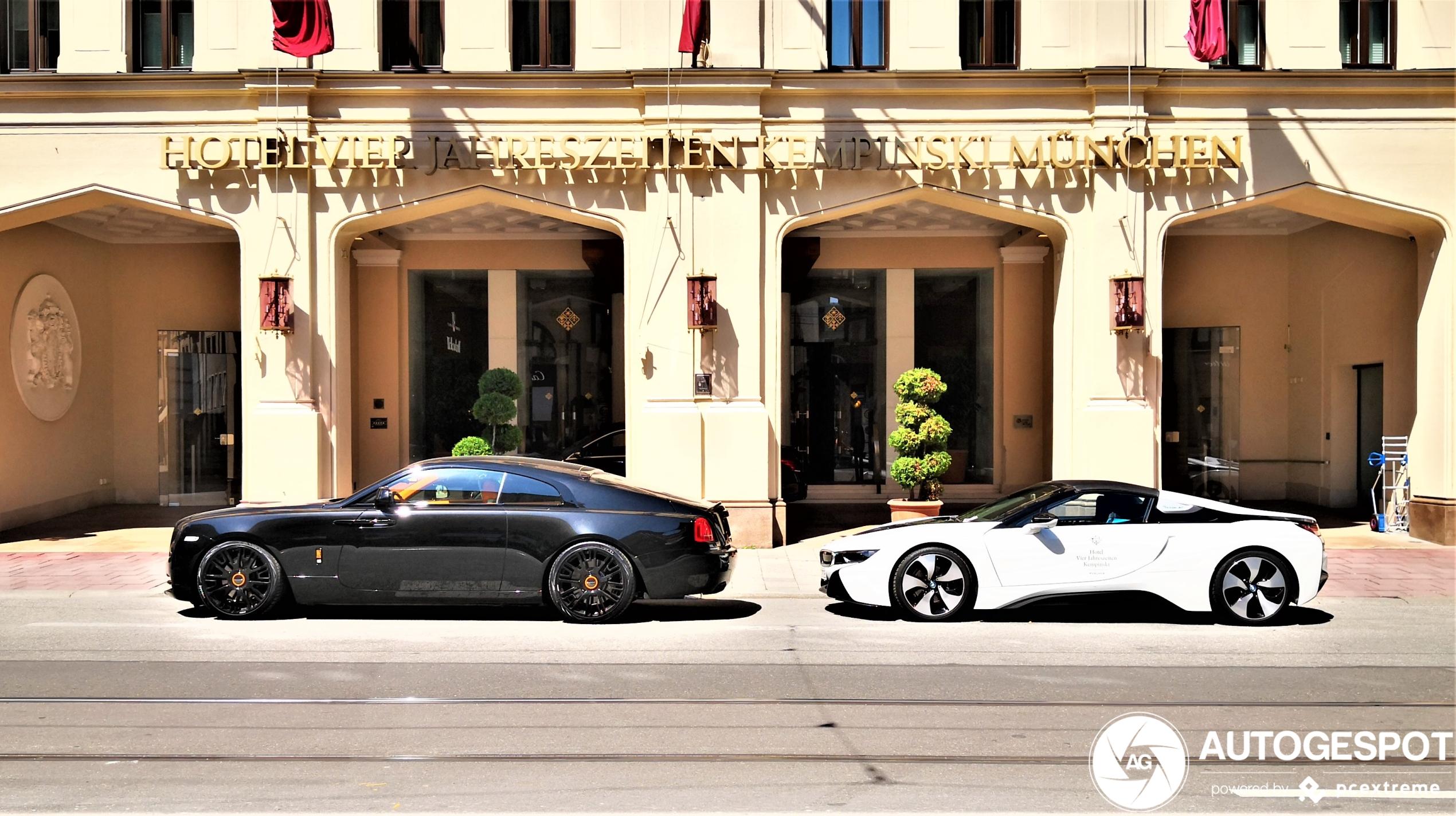 Rolls-Royce Wraith Black Badge is niet geheel standaard meer