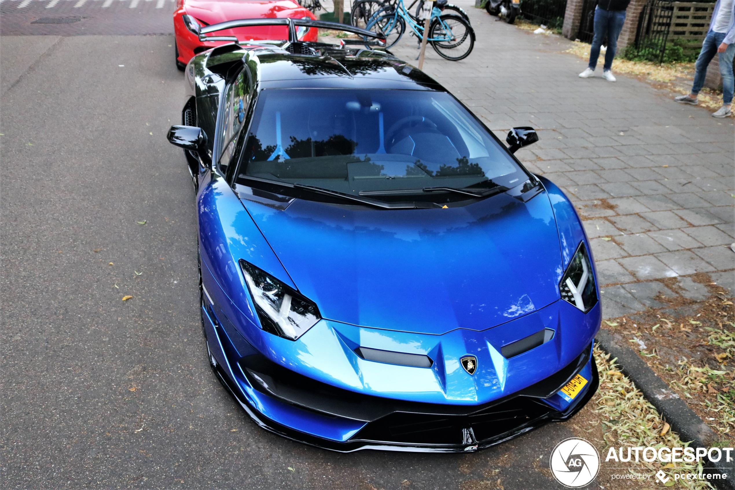 Topspot: Lamborghini Aventador LP770-4 SVJ Roadster in unieke kleur