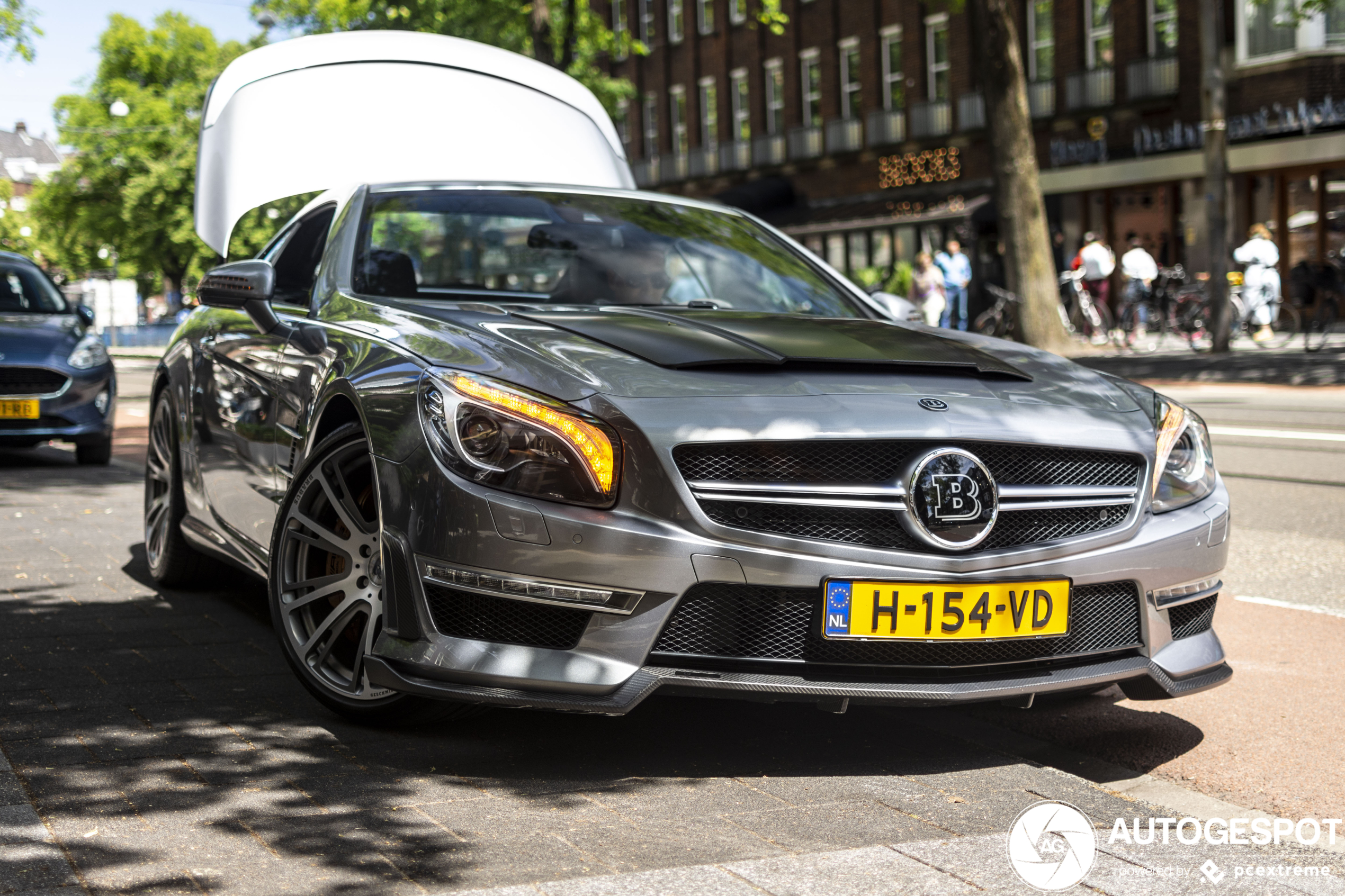 Mercedes-Benz Brabus 850 Roadster is auto voor waaghalzen