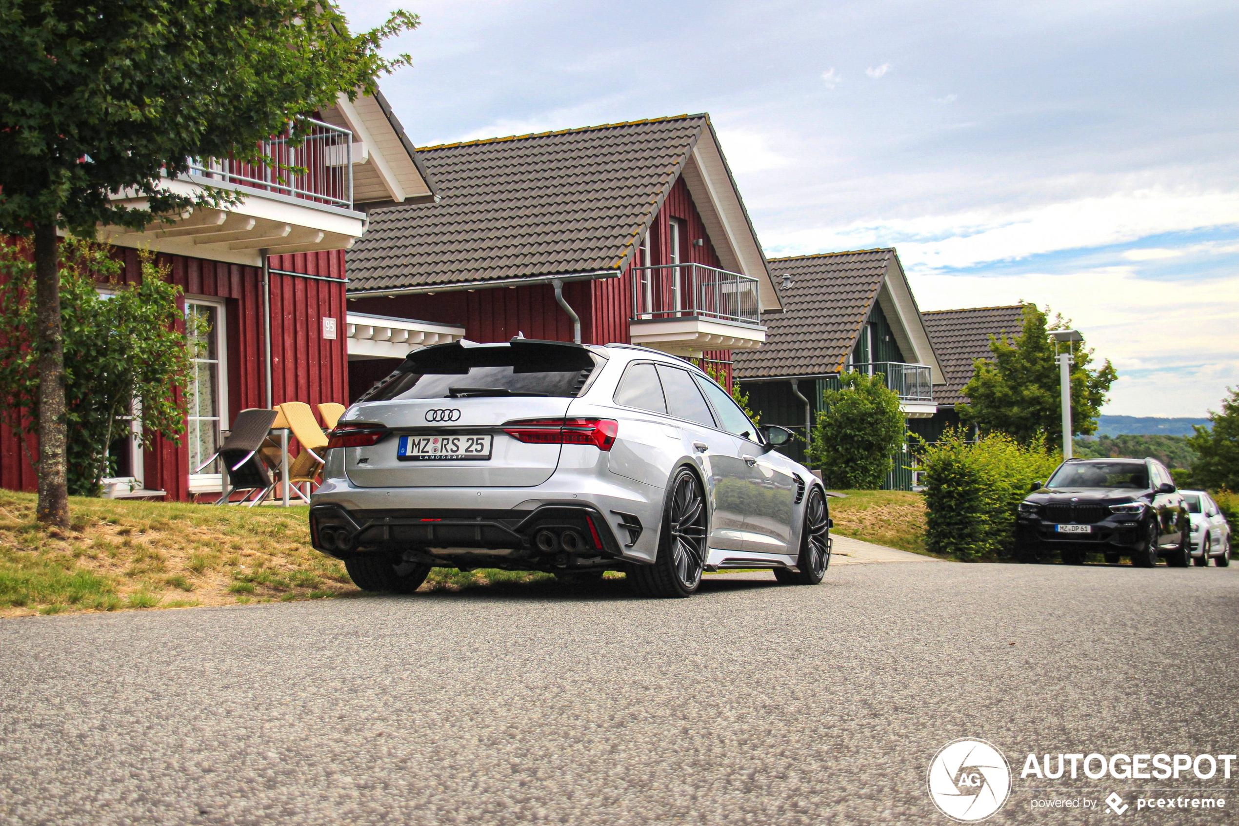 ABT's RS6 Avant wordt al gretig gespot