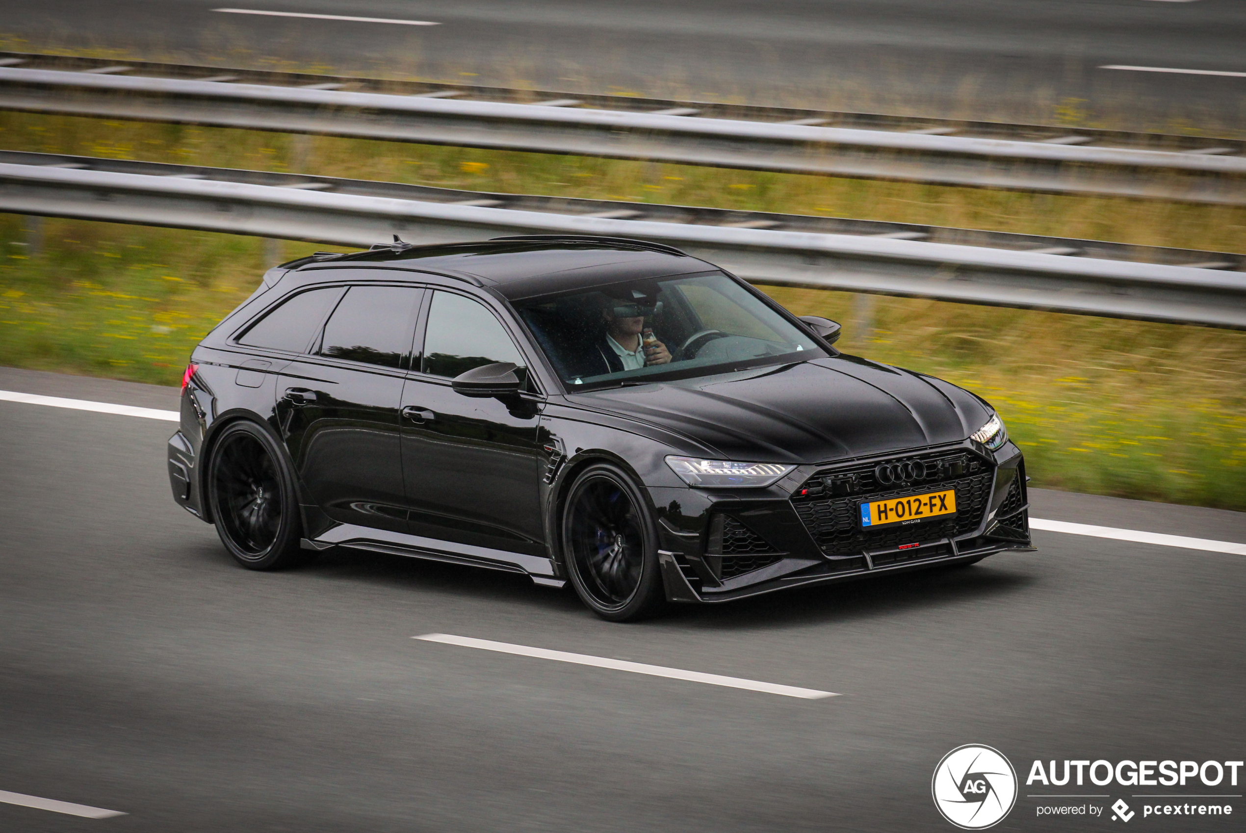 Is dit de Audi ABT RS6-R Avant van Hakim Ziyech?