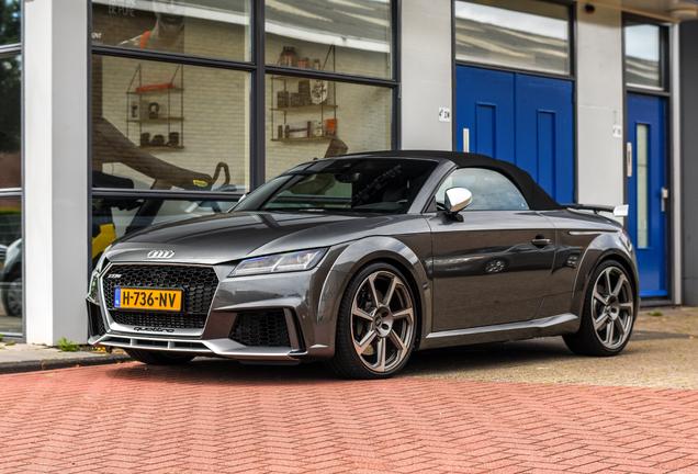 Audi TT-RS Roadster 2017