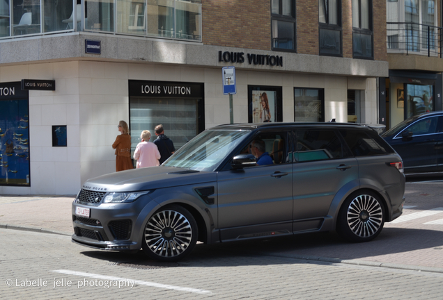Land Rover Mansory Range Rover Sport SVR