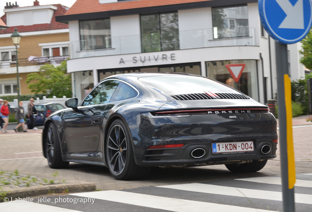 Porsche 992 Carrera 4S Belgian Legend Edition