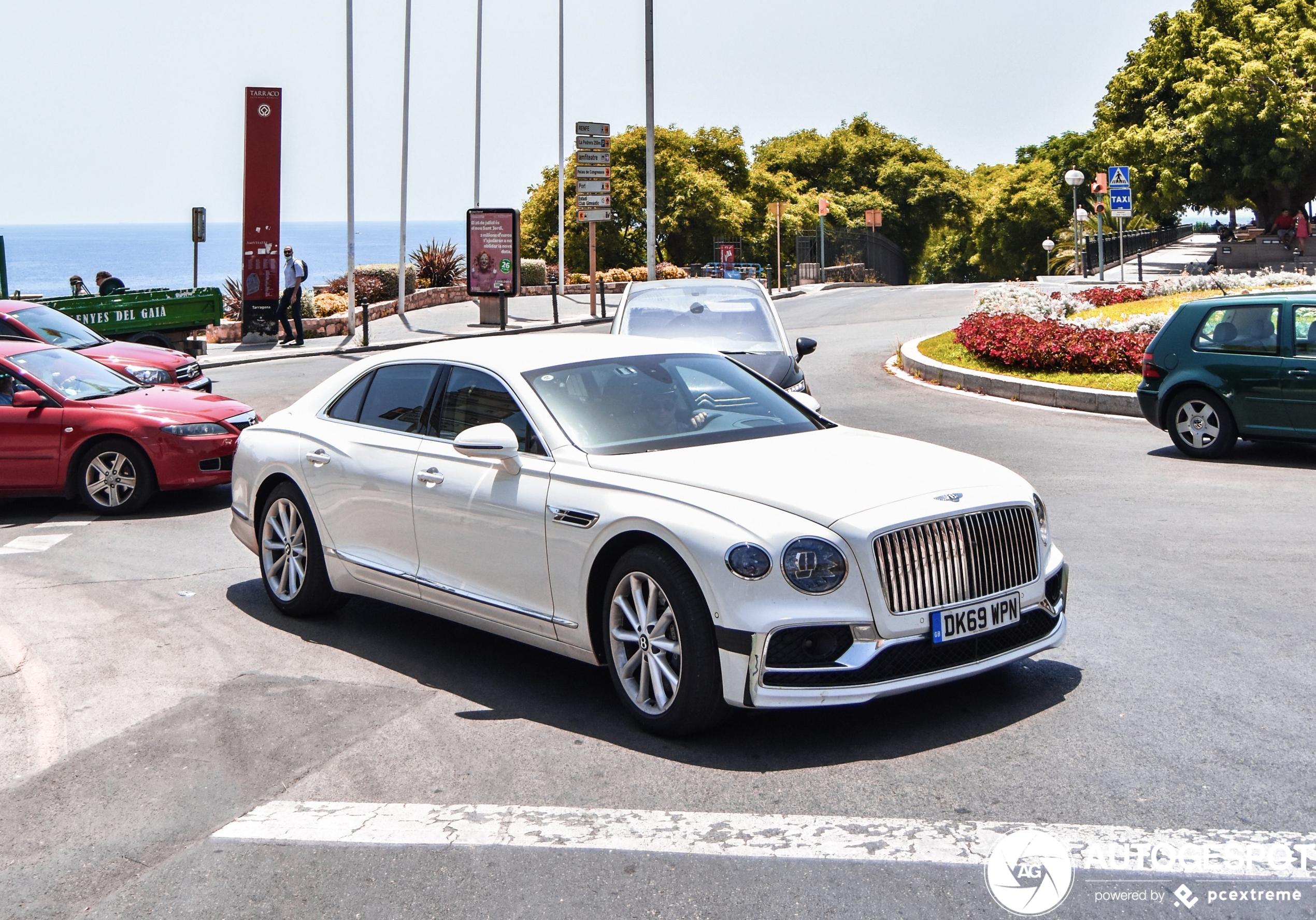 Topspot: de nieuwe Bentley Flying Spur Speed!