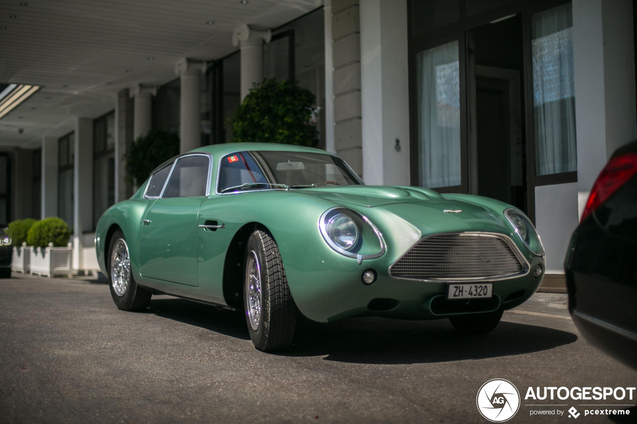 Aston Martin Db4 Gt Zagato 11 Juli 2020 Autogespot