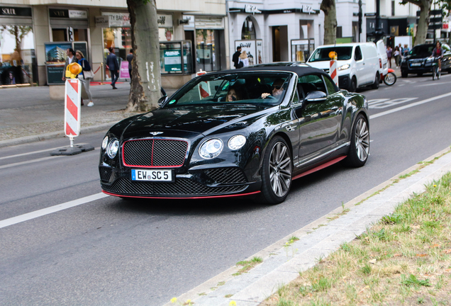 Bentley Continental GTC Speed Black Edition 2016