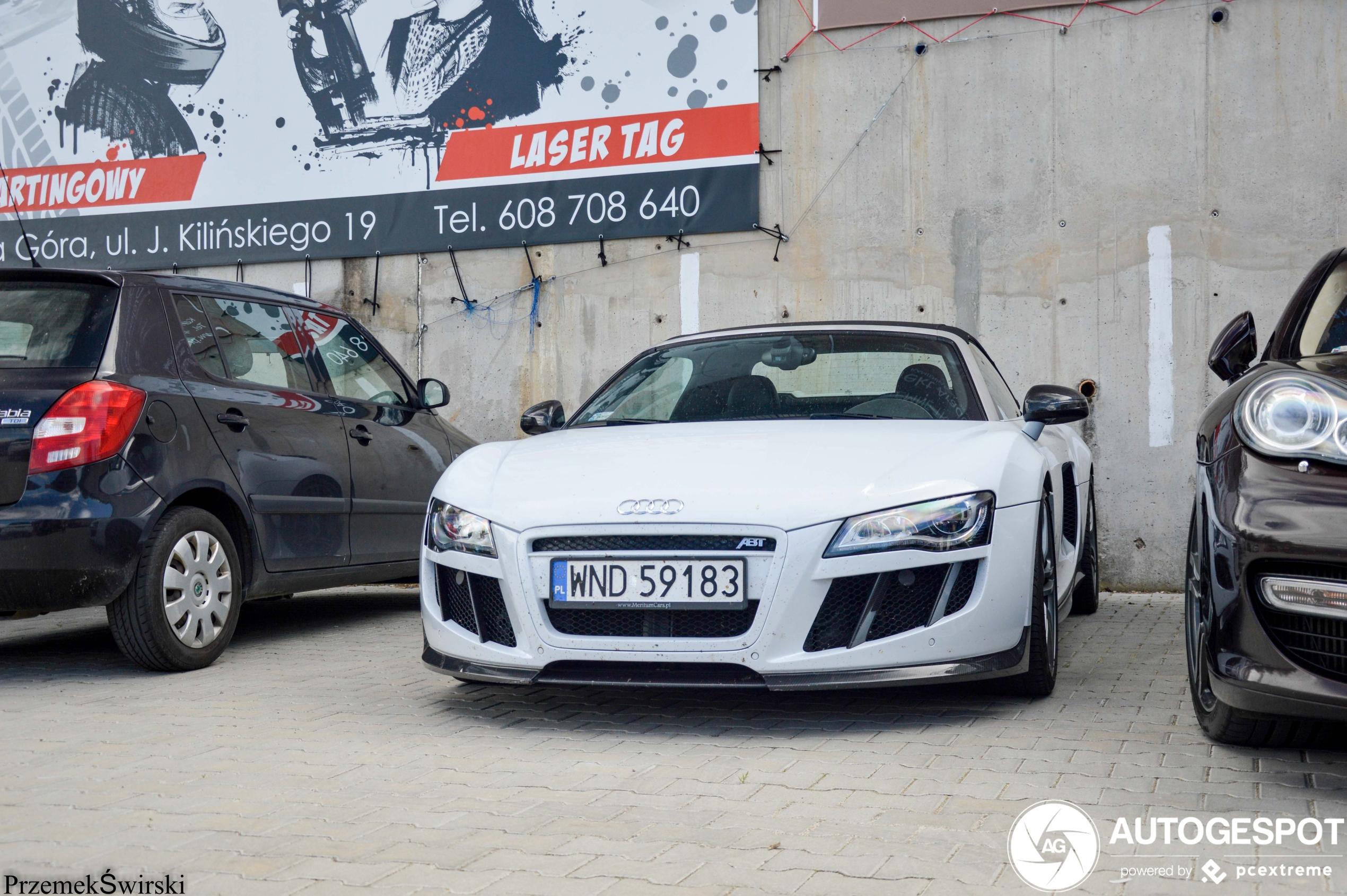 Audi ABT R8 V10 Spyder