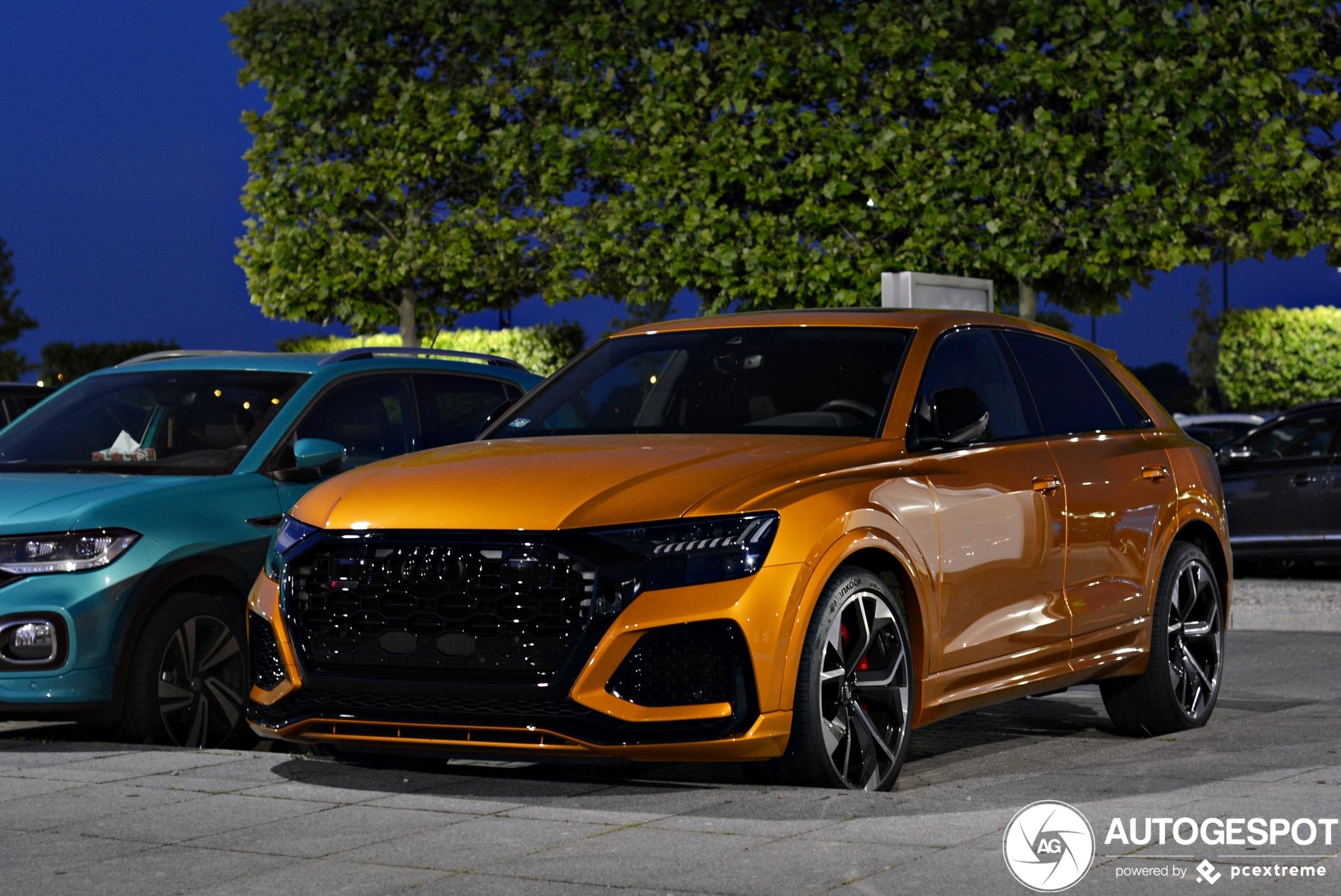 Audi RS Q8 gaat voor award mooiste kleur