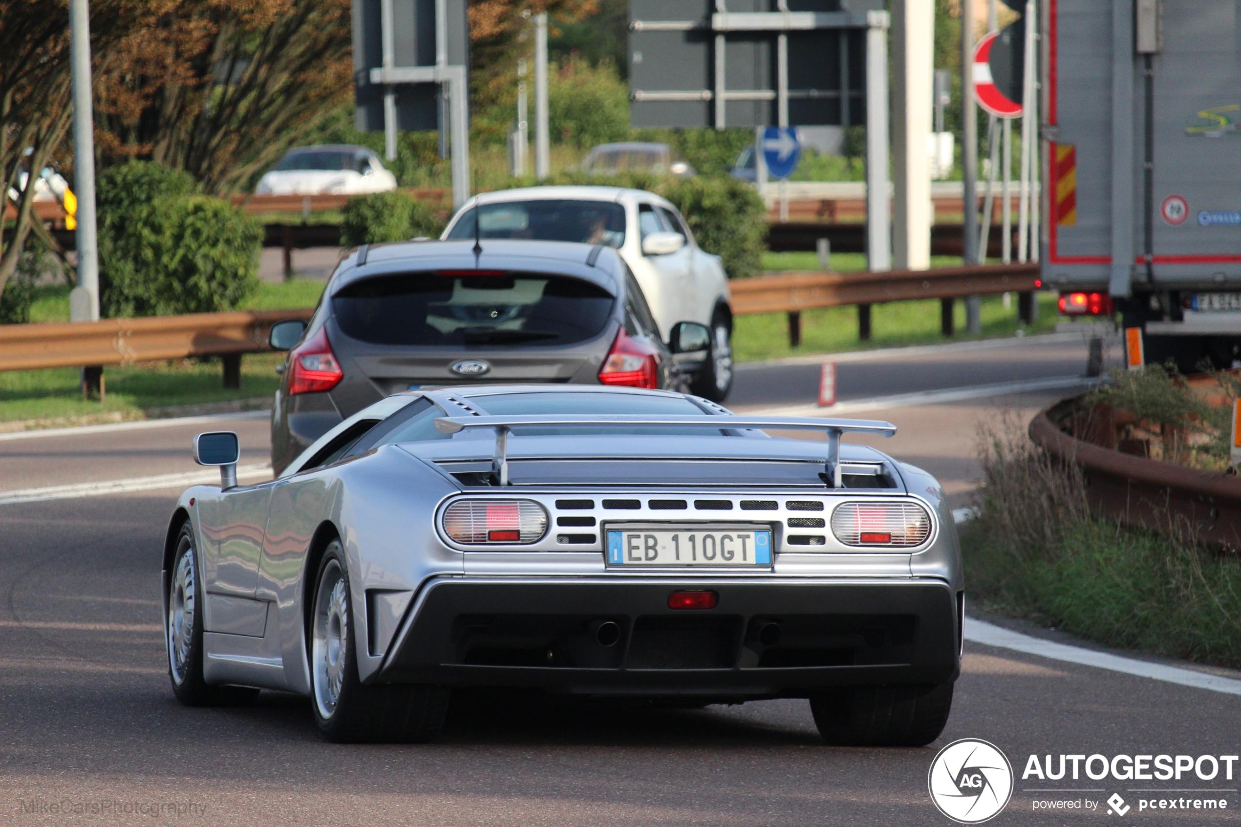 Gespot: de Bugatti die in Italië werd gemaakt