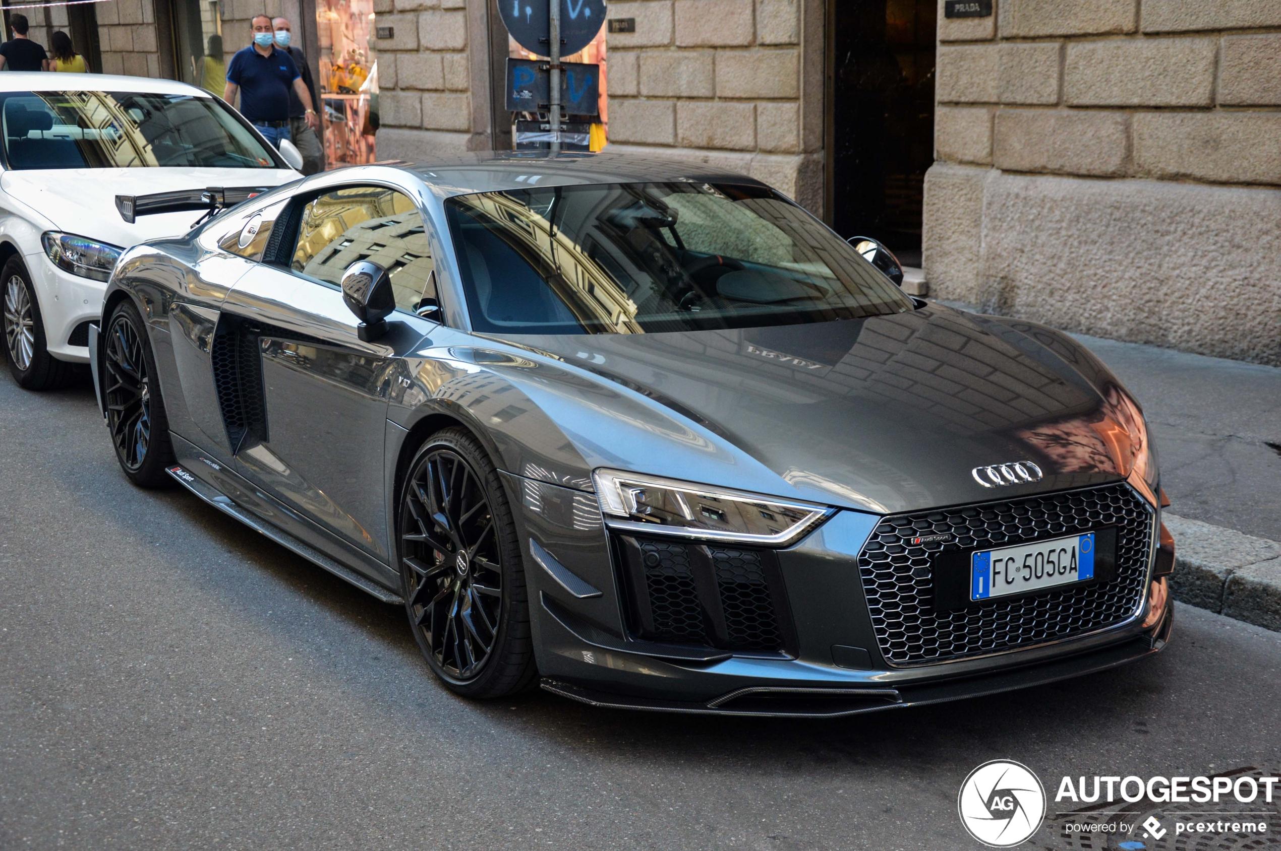 Audi R8 V10 Plus Sport Performance Parts 21 July 2020 Autogespot