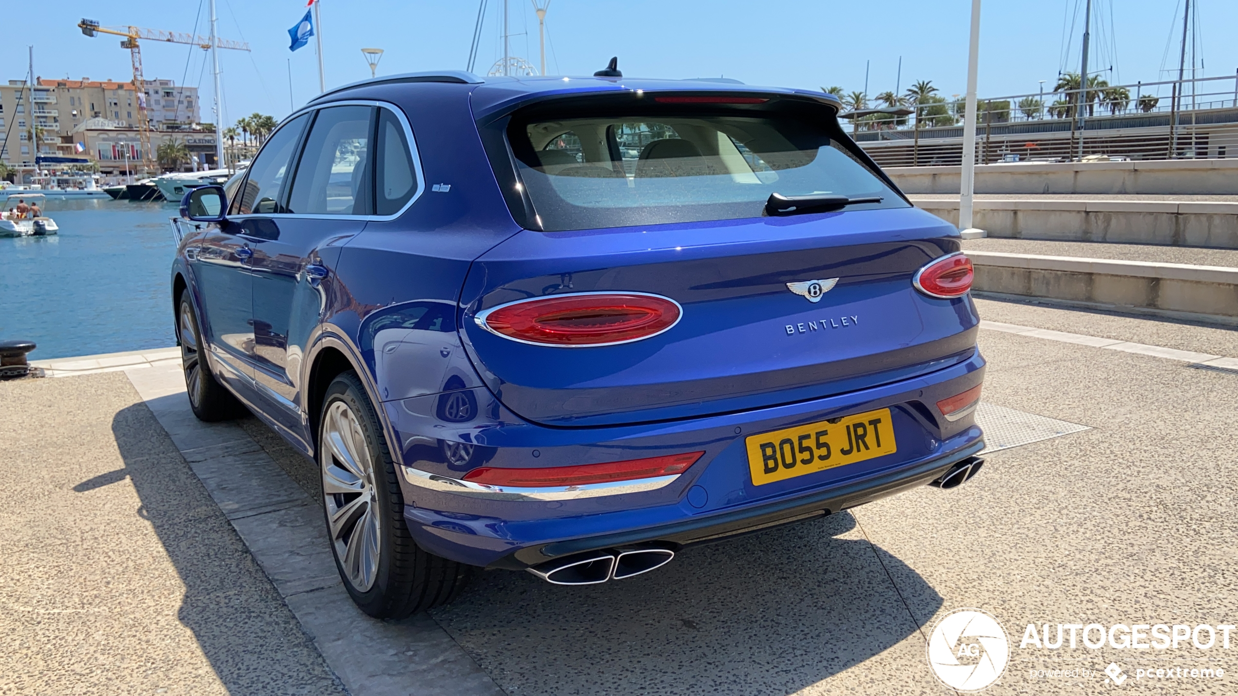 New Bentley Bentayga already reached the south of France.
