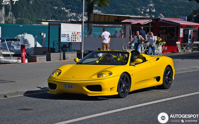 Ferrari 360 Spider 21 Juli 2020 Autogespot