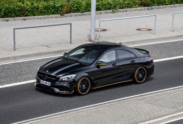 Mercedes-AMG CLA 45 C117 Yellow Night Edition