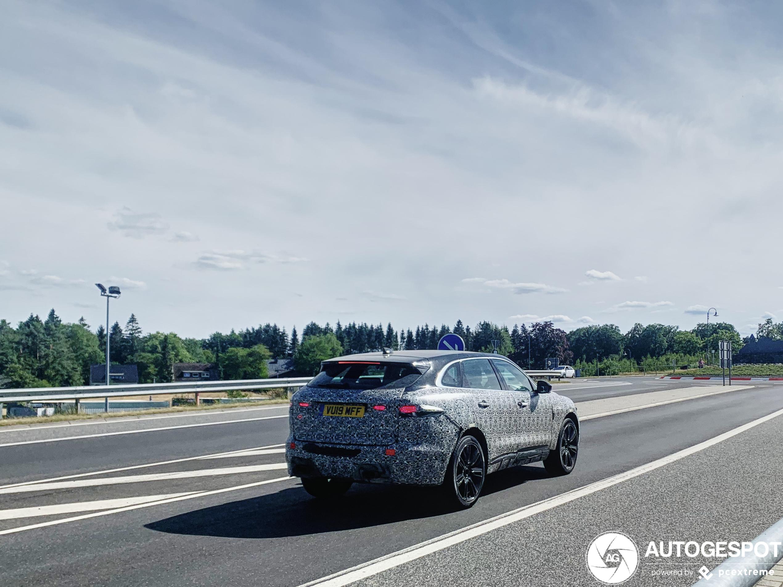 jaguar fpace svr 2021  25 juli 2020  autogespot