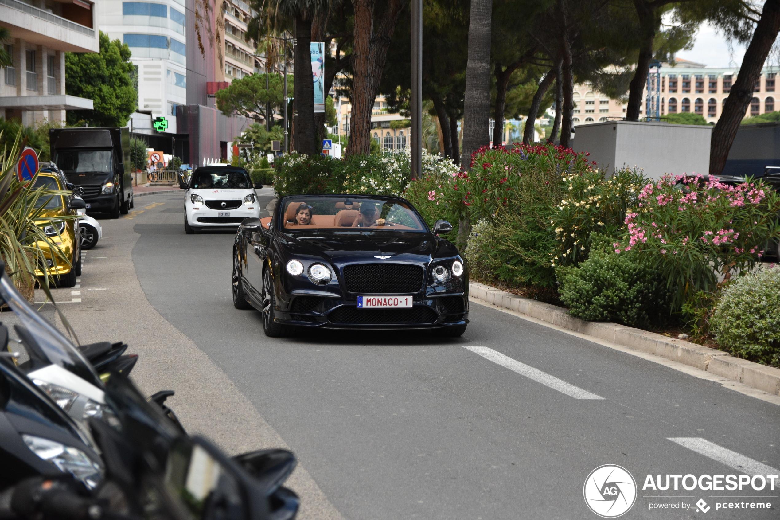 Bentley Continental Supersports heeft ultieme kenteken