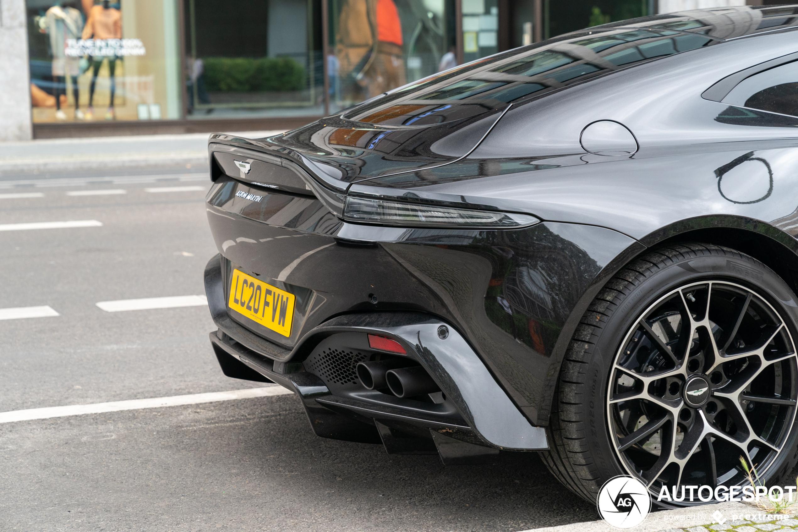 Aston Martin Vantage AMR zorgt voor dat extra beetje plezier