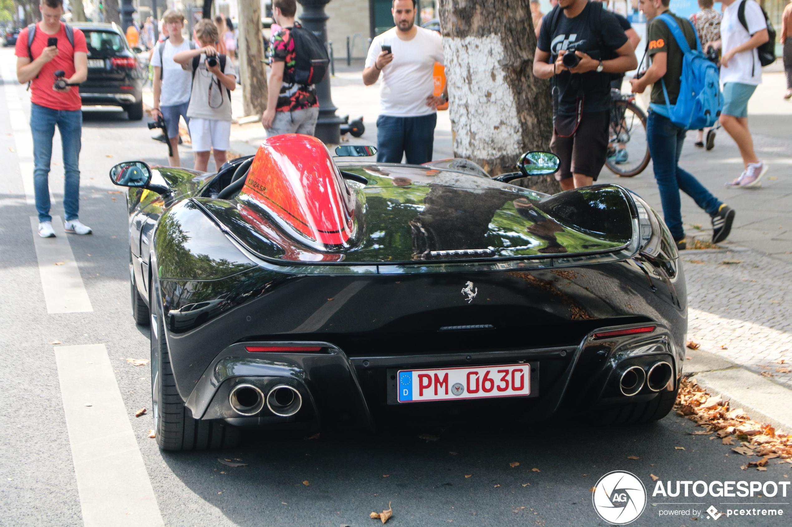 Primeur! Ferrari Monza SP1 gespot