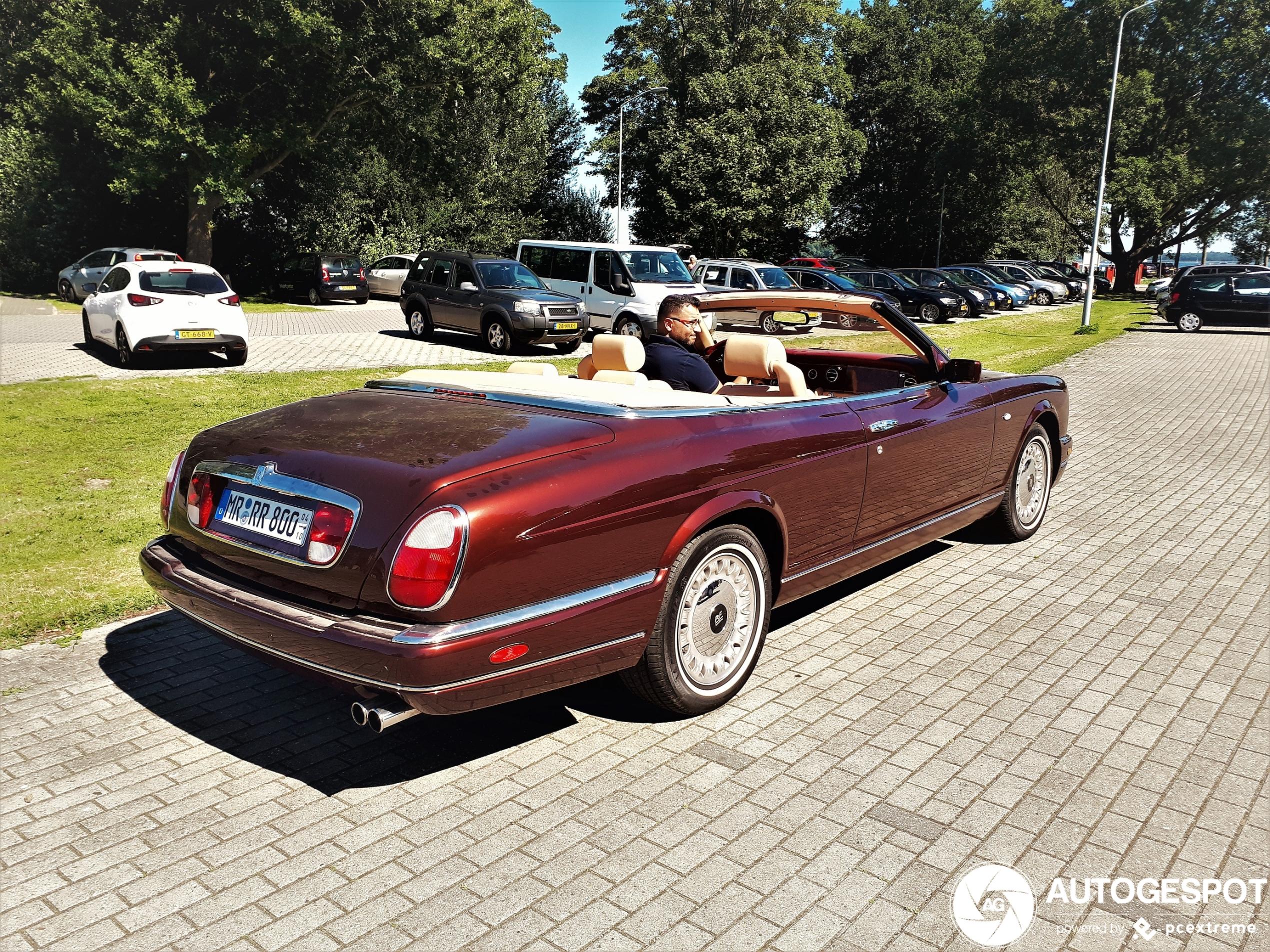 Dit is één van de laatste Rolls-Royces uit Crewe