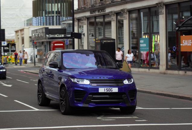 Land Rover Range Rover Sport SVR 2018 Overfinch