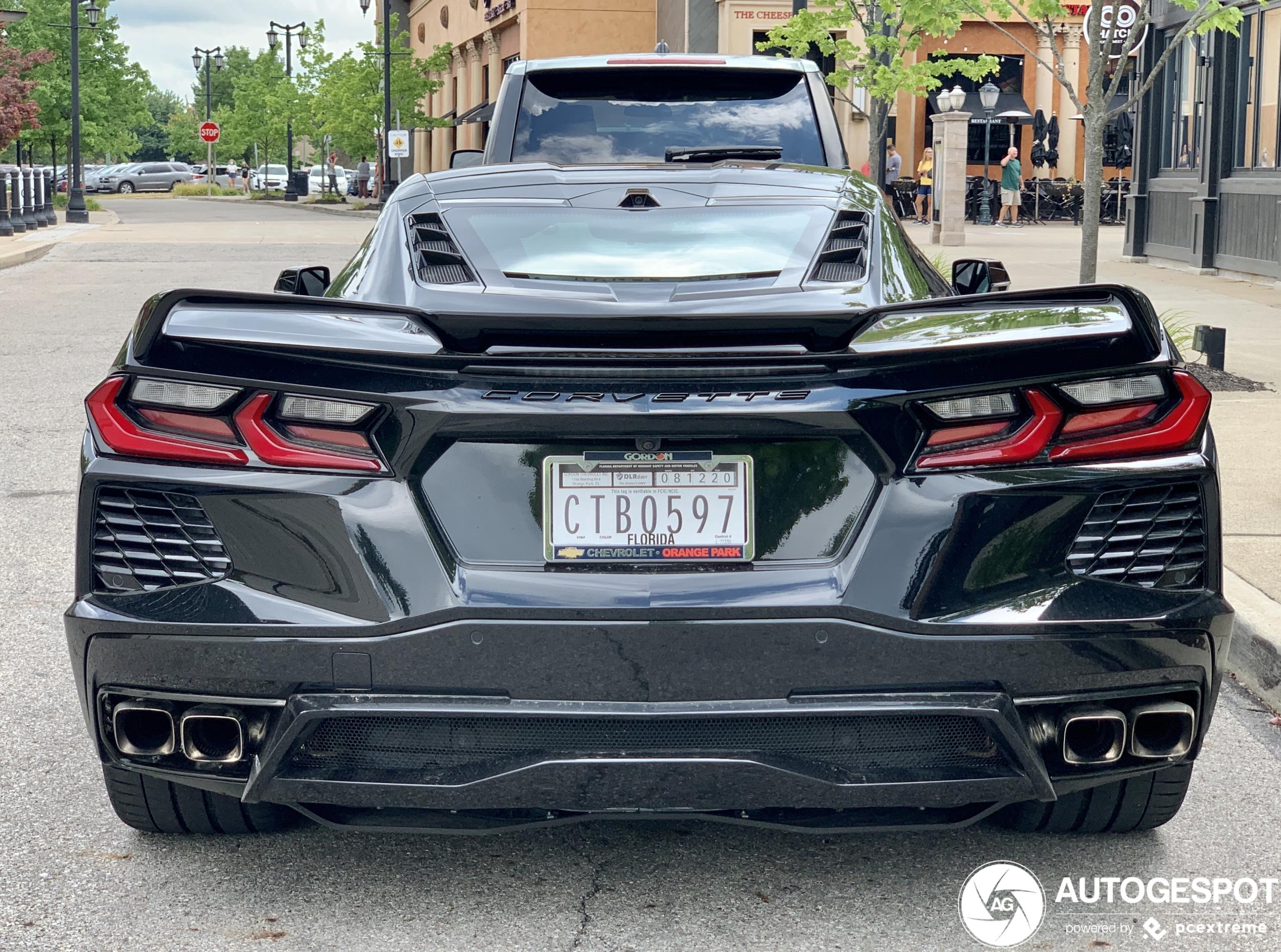 Nog even en de Chevrolet Corvette C8 is zelfs in Amerika niet speciaal