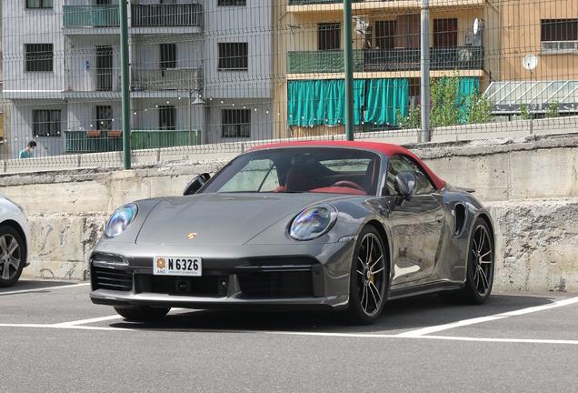 Porsche992 Turbo S Cabriolet