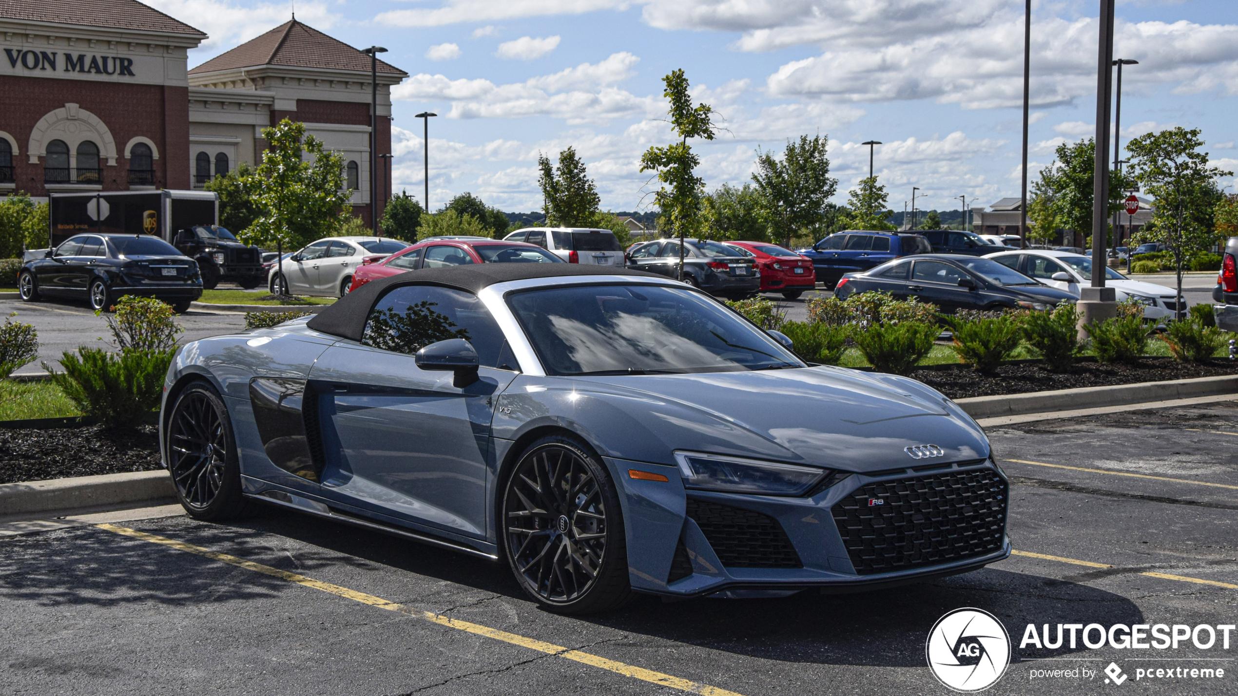 Audi R8 V10 Spyder 2019