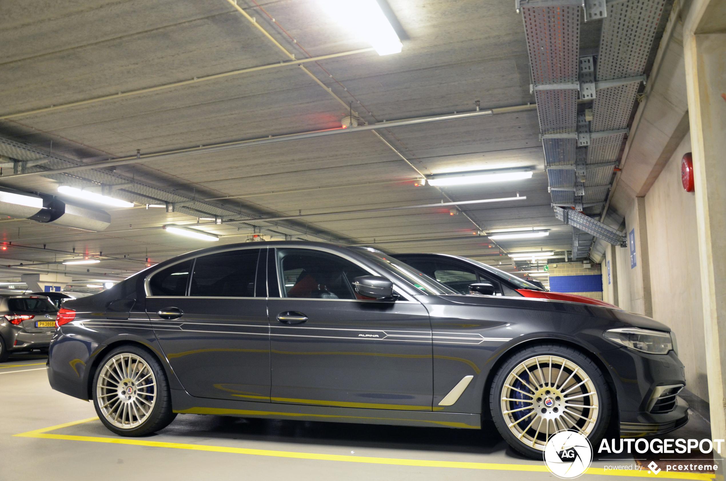Alpina D5 S Allrad 2017